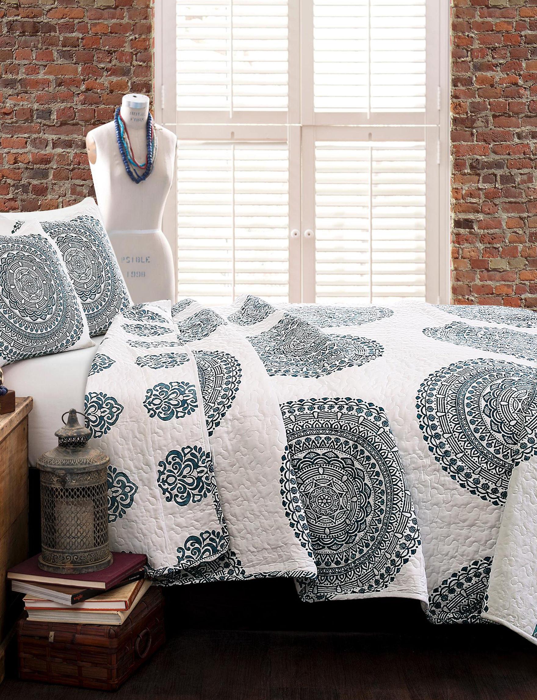 Lush Decor Blue Quilts & Quilt Sets