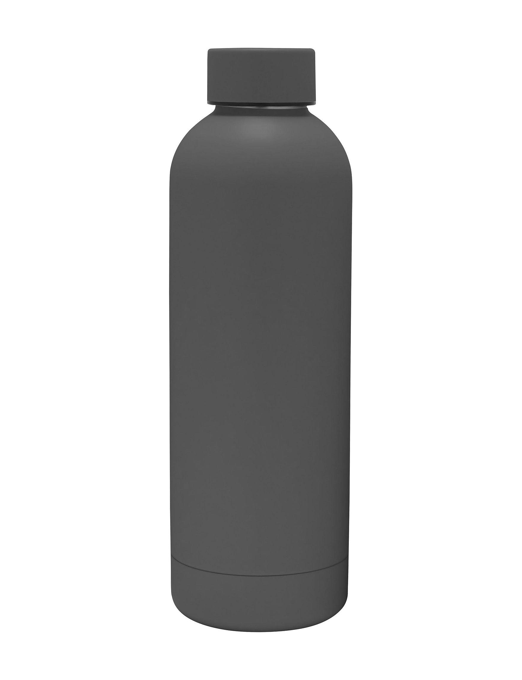Gourmet Home Grey Water Bottles Drinkware