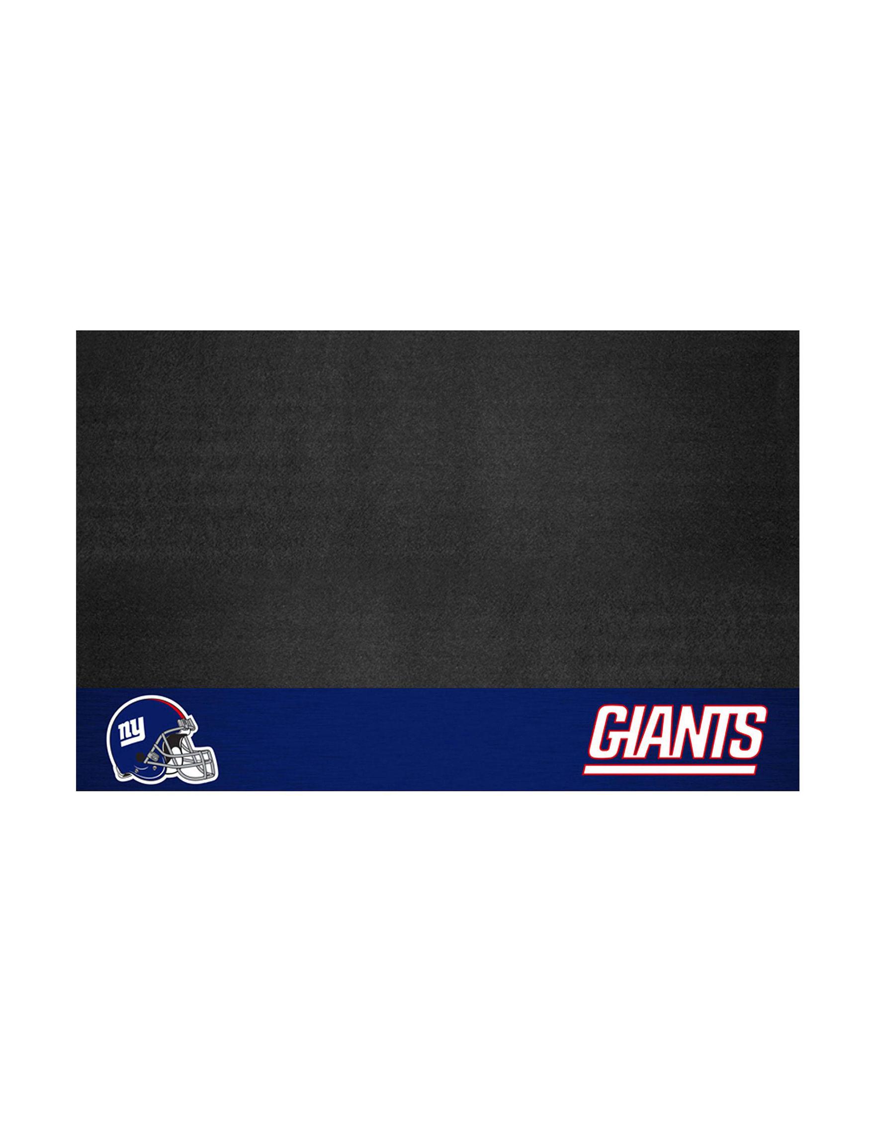 Fanmats Black / Blue Outdoor Rugs & Doormats Outdoor Decor