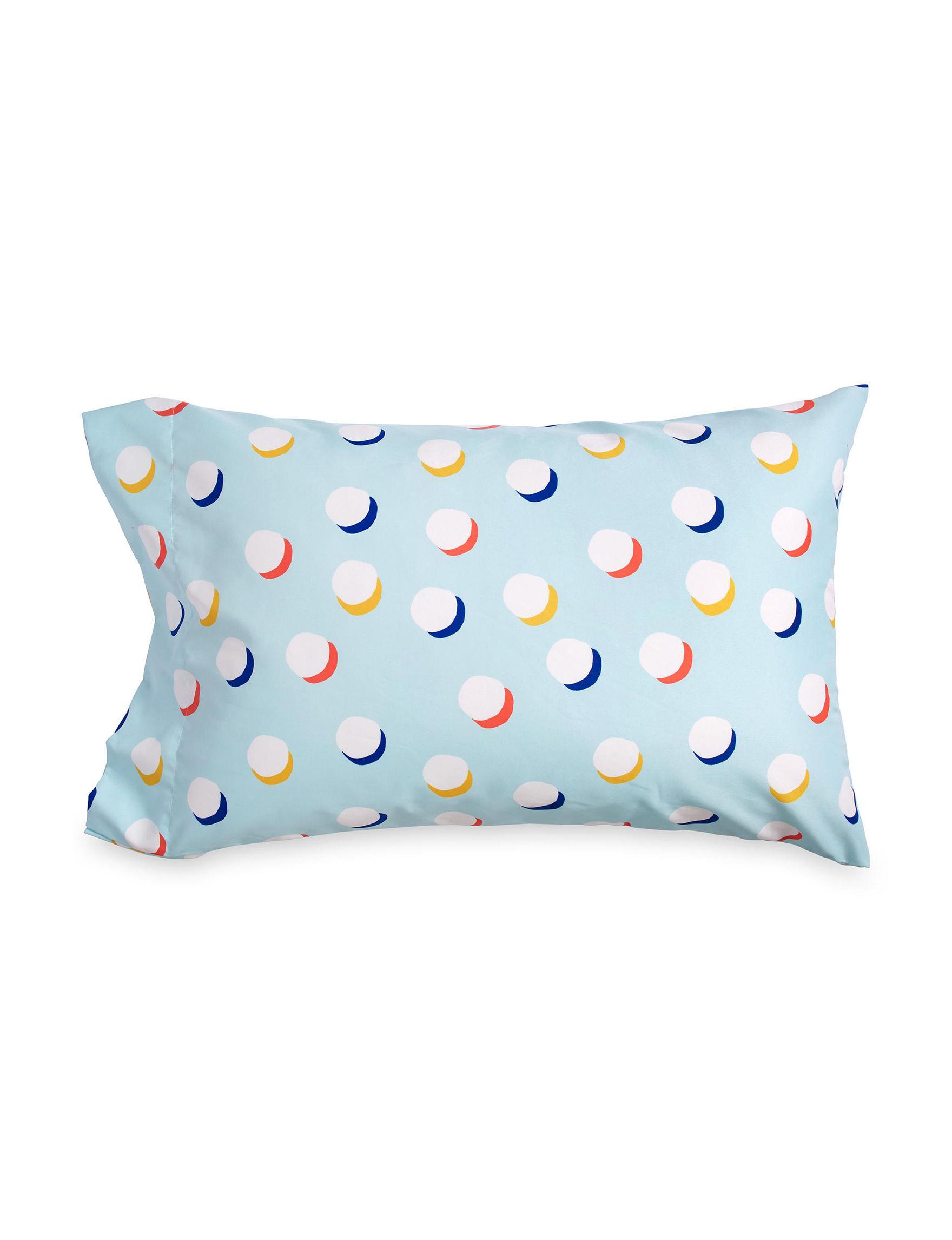 Scribble Aqua Bed Pillows Decorative Pillows Sheets & Pillowcases