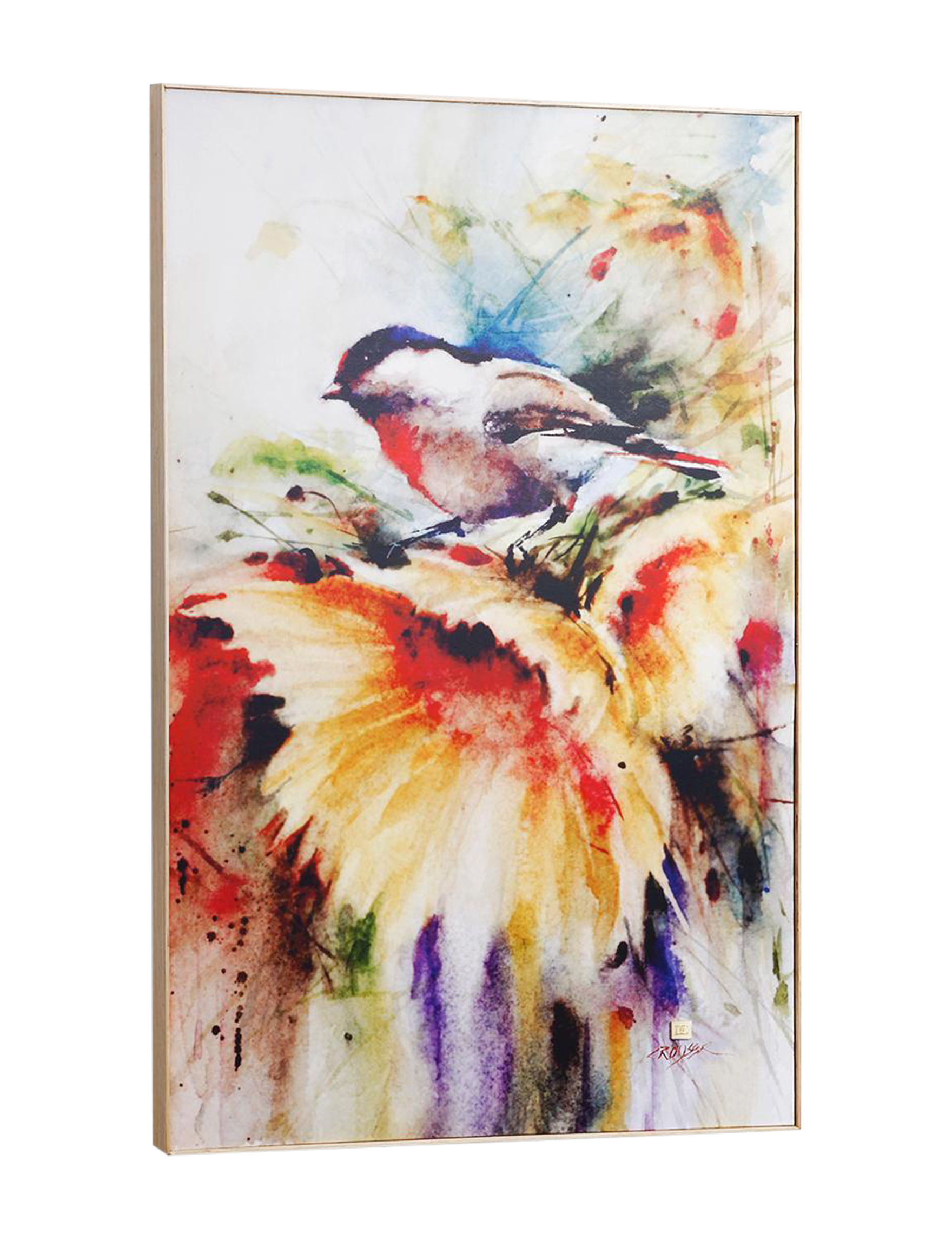 Big Sky Carvers White / Multi Wall Art Home Accents Wall Decor