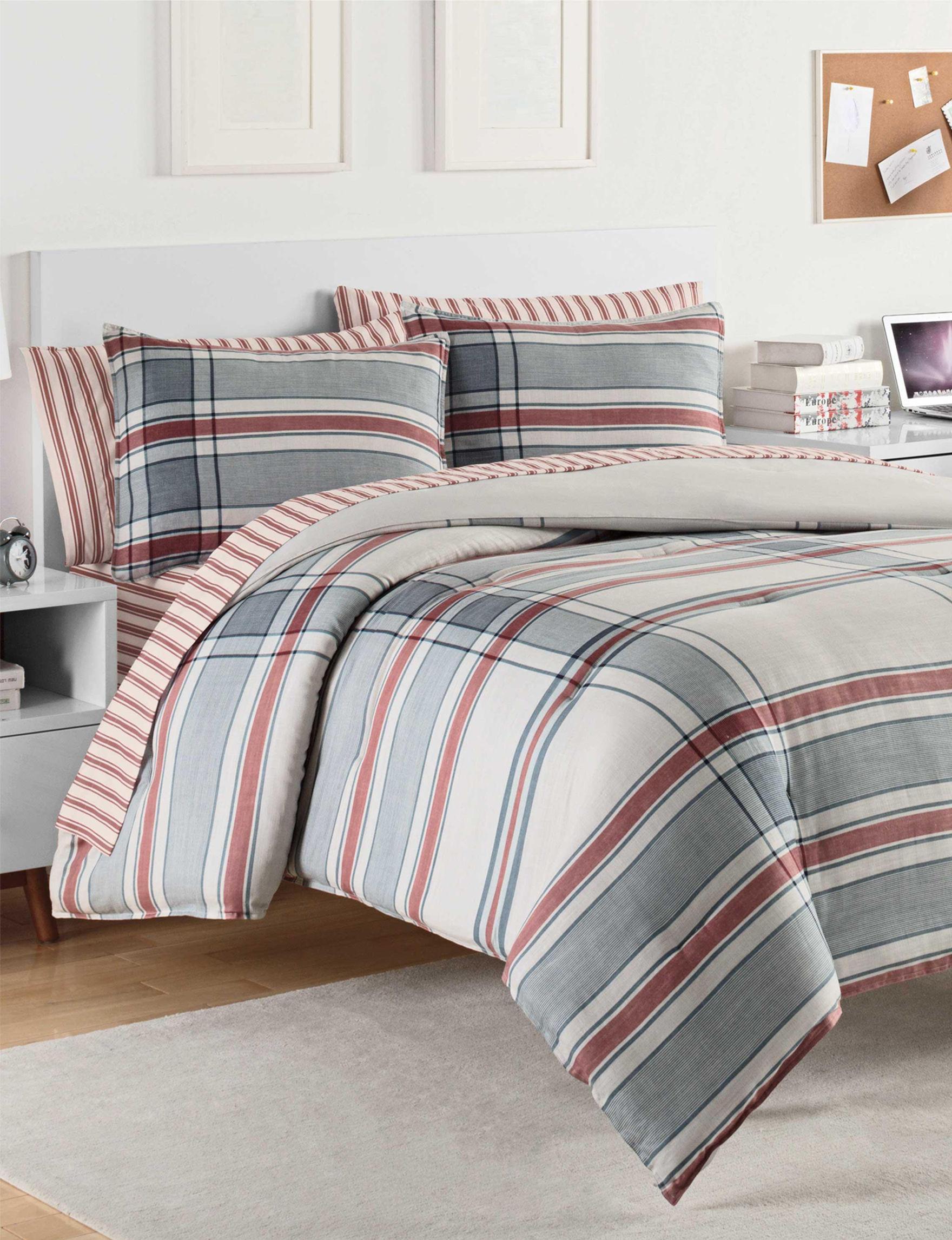 Izod Blue/ Red Comforters & Comforter Sets