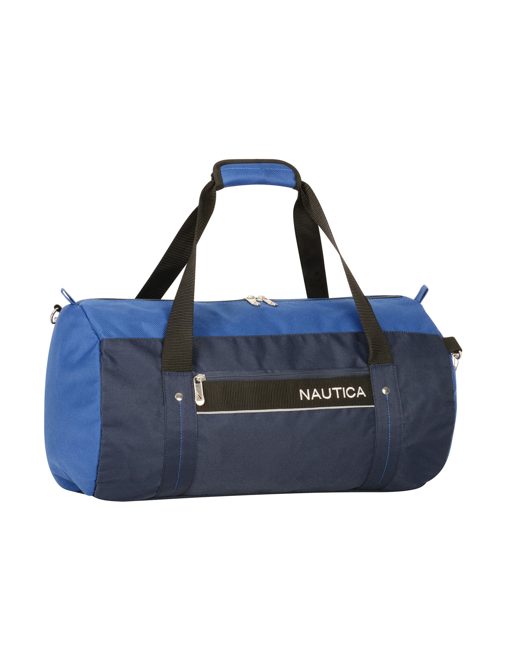 Nautica Navy / Blue Carry On Luggage Duffle Bags Travel Accessories