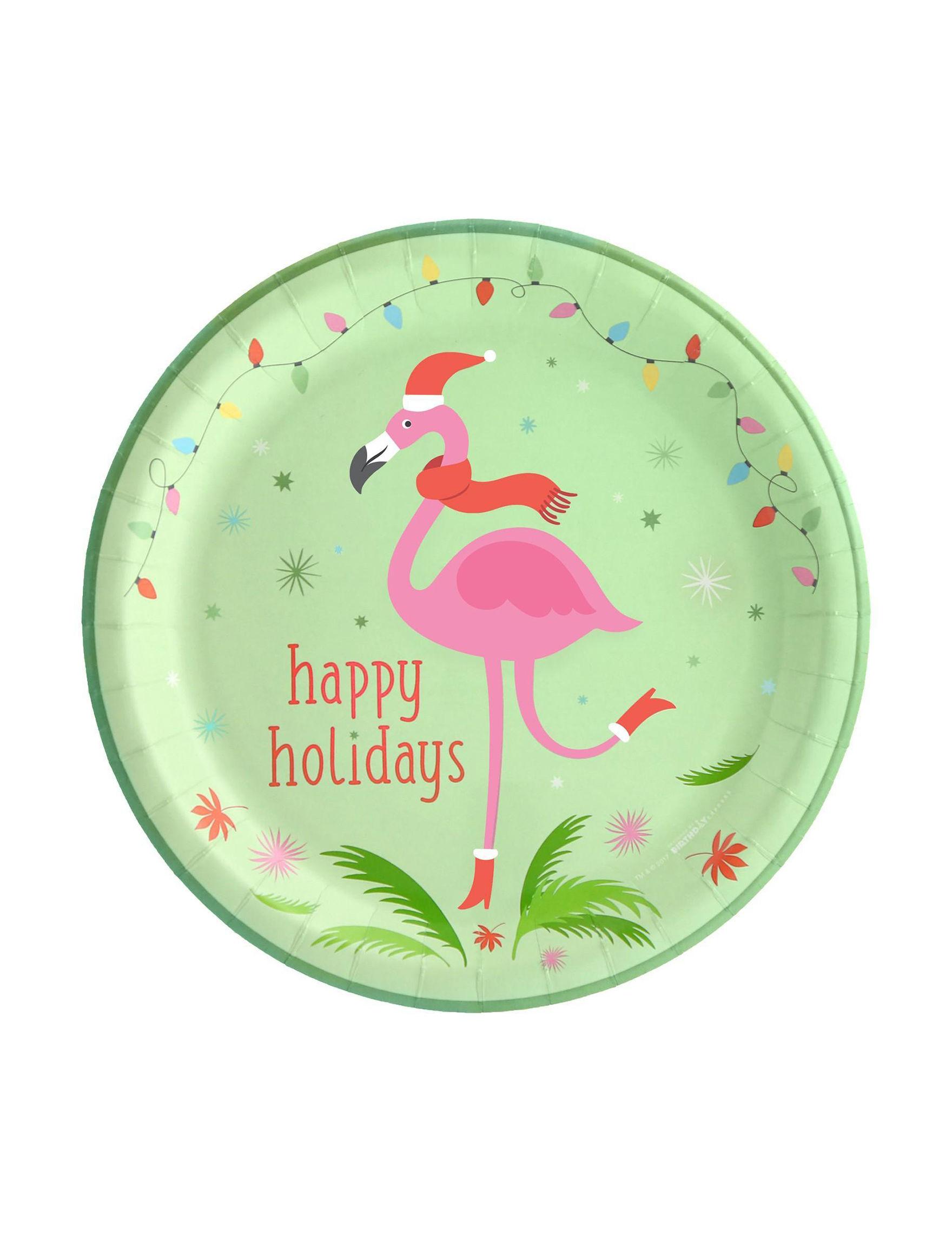 BuySeasons Green Multi Decorative Objects Holiday Dining & Entertaining Holiday Decor Serveware