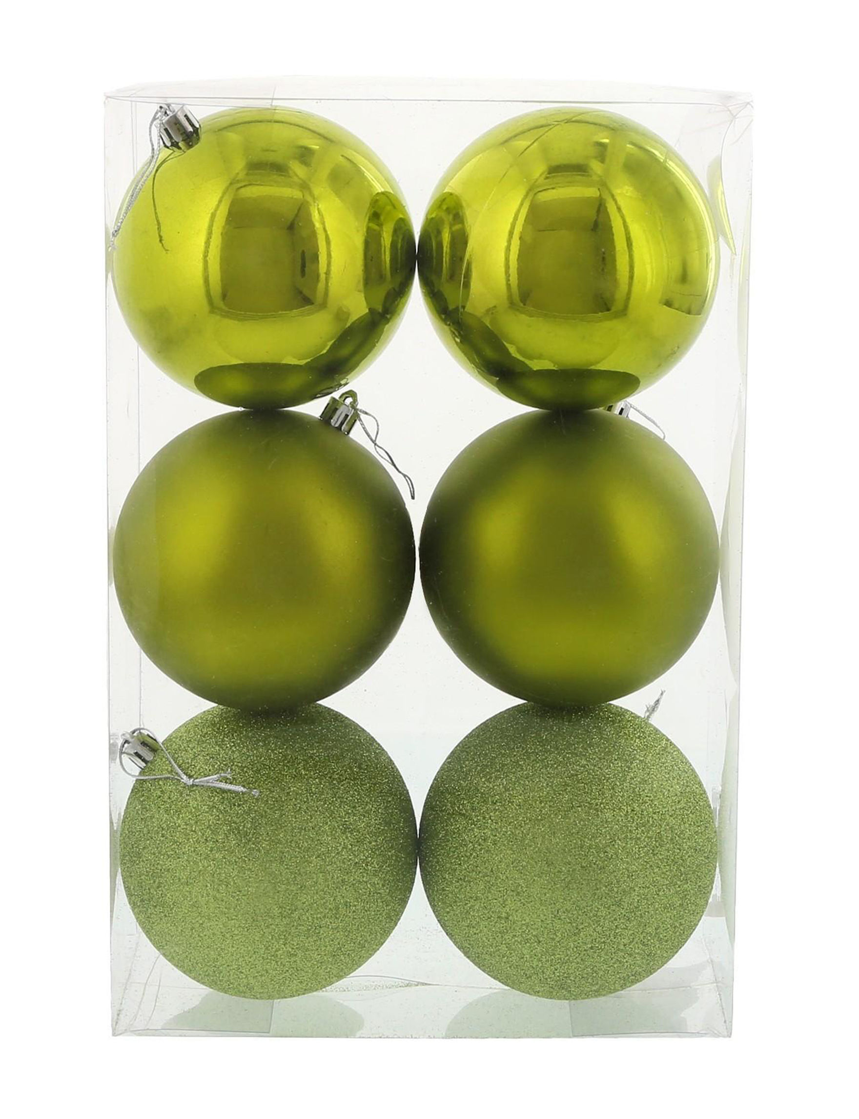 BuySeasons Green Decorative Objects Ornaments Holiday Decor
