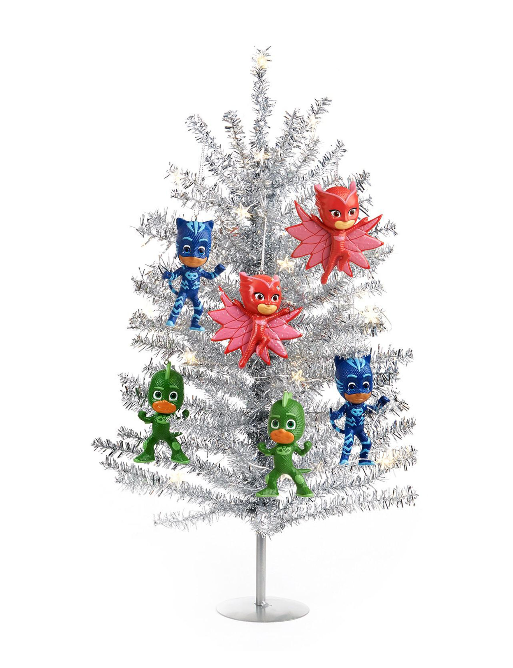BuySeasons Silver Christmas Trees Decorative Objects Holiday Decor