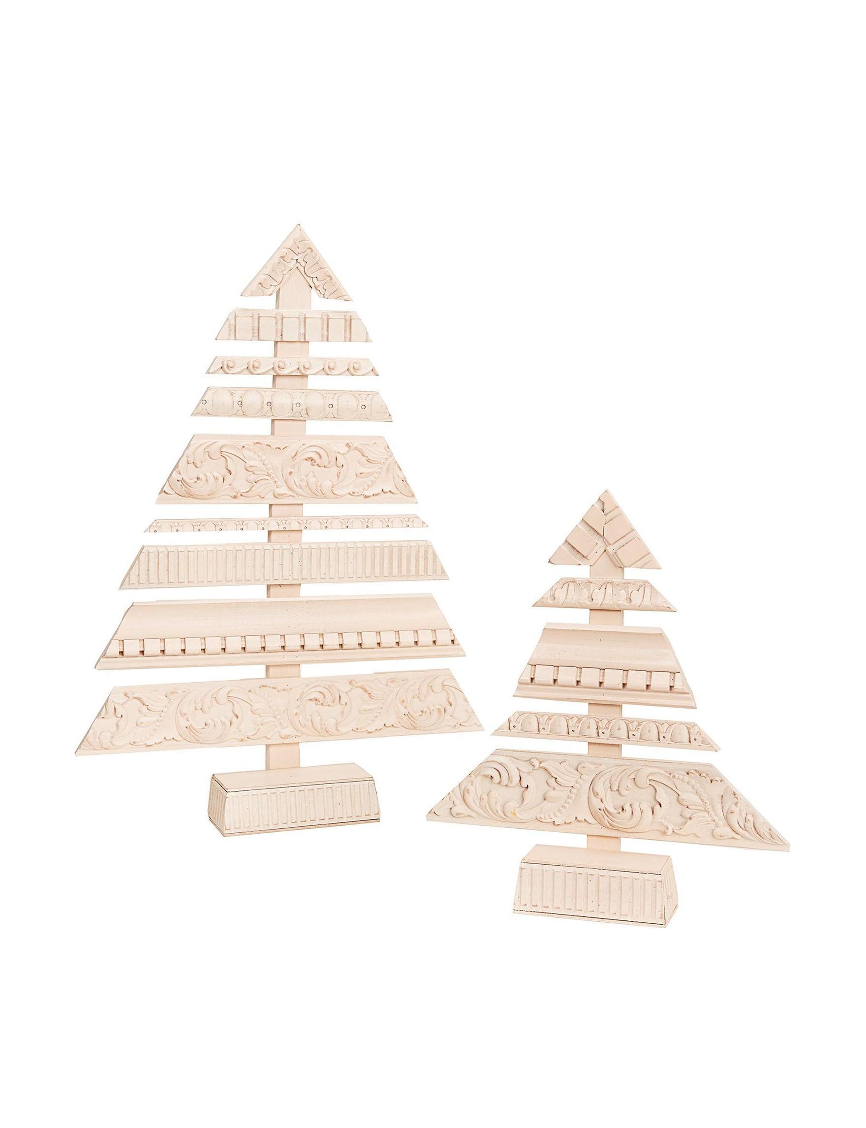 BuySeasons White Decorative Objects Holiday Decor