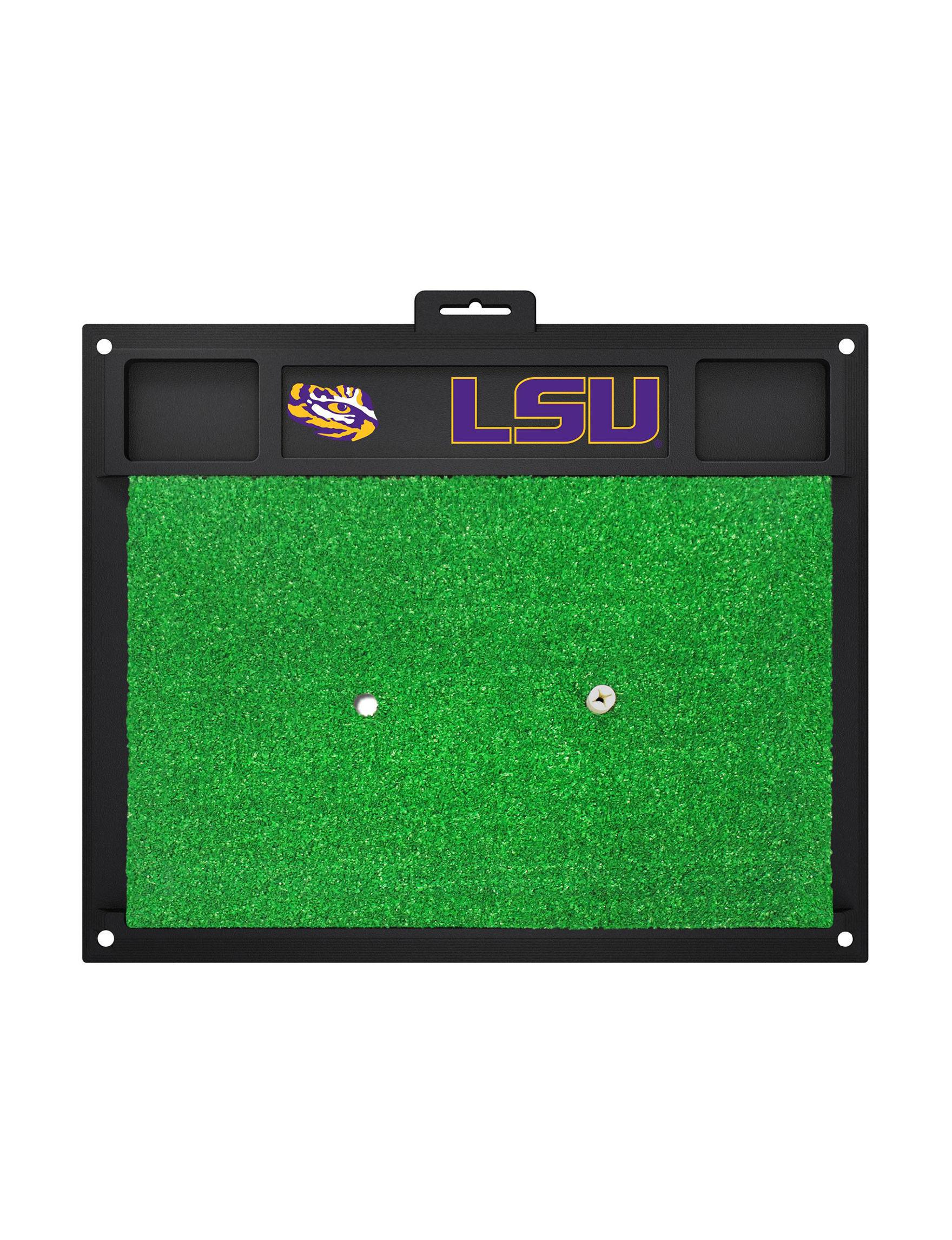 Fanmats Purple / Yellow Outdoor Rugs & Doormats Outdoor Decor