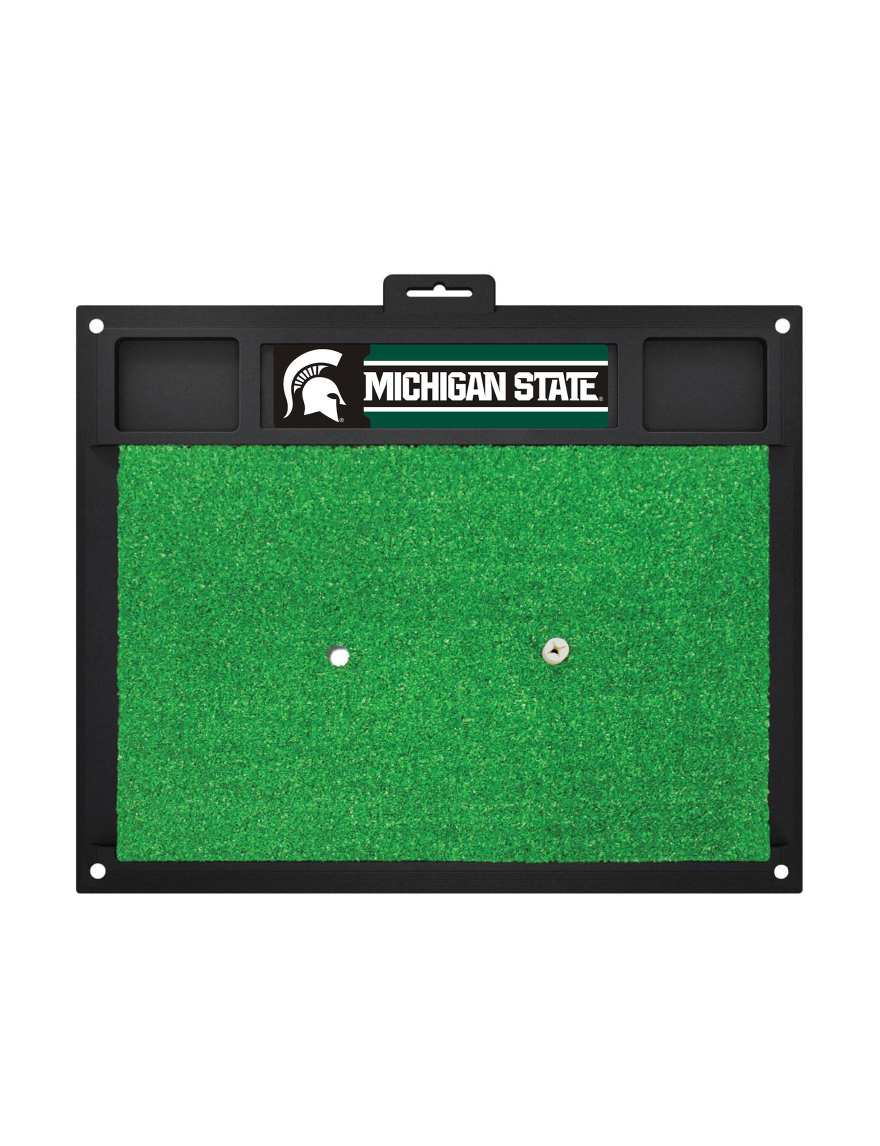 Fanmats Green Outdoor Rugs & Doormats Outdoor Decor