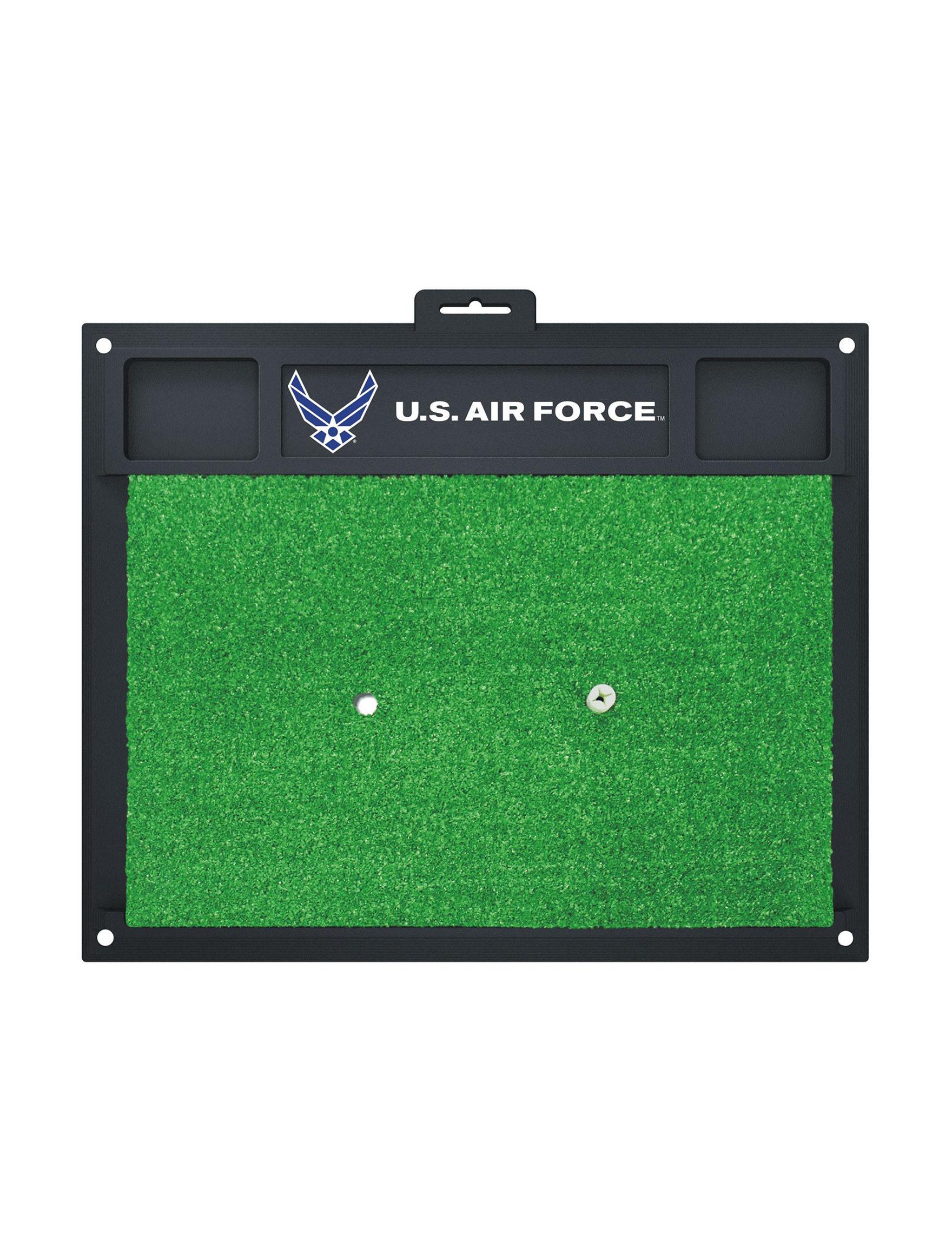Fanmats Blue / White Outdoor Rugs & Doormats Outdoor Decor