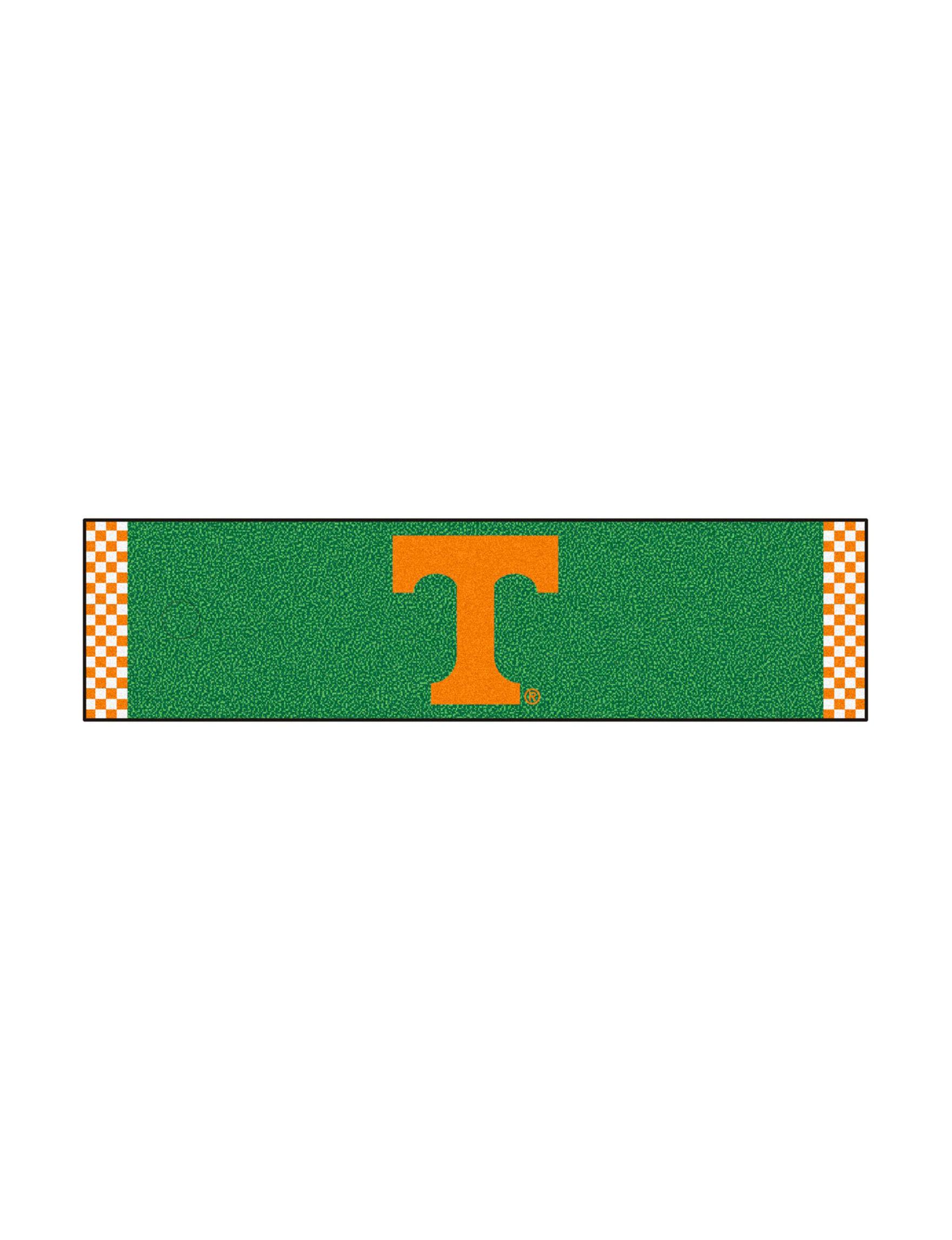 Fanmats Orange / White Outdoor Rugs & Doormats Outdoor Decor