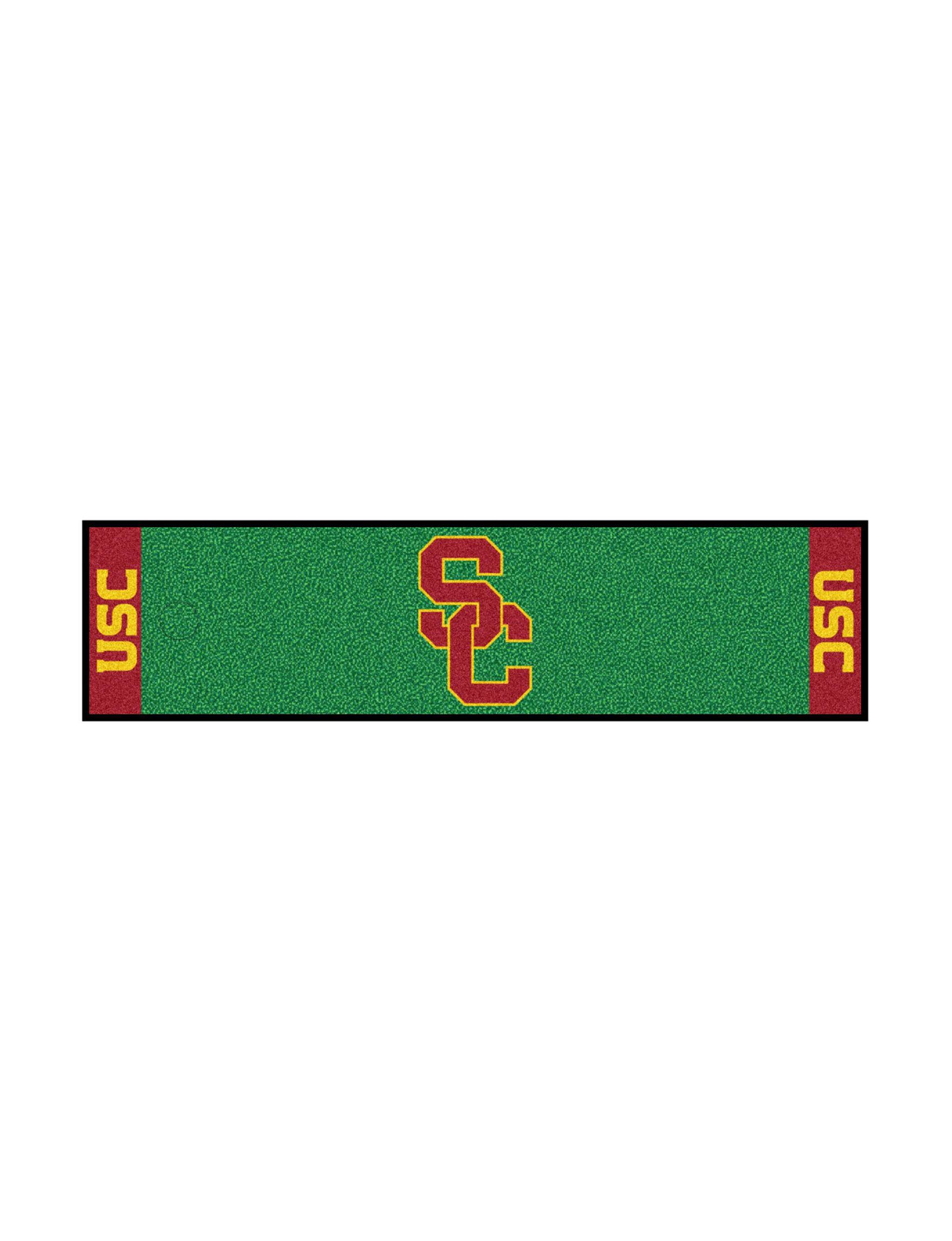 Fanmats Red / Yellow Outdoor Rugs & Doormats Outdoor Decor