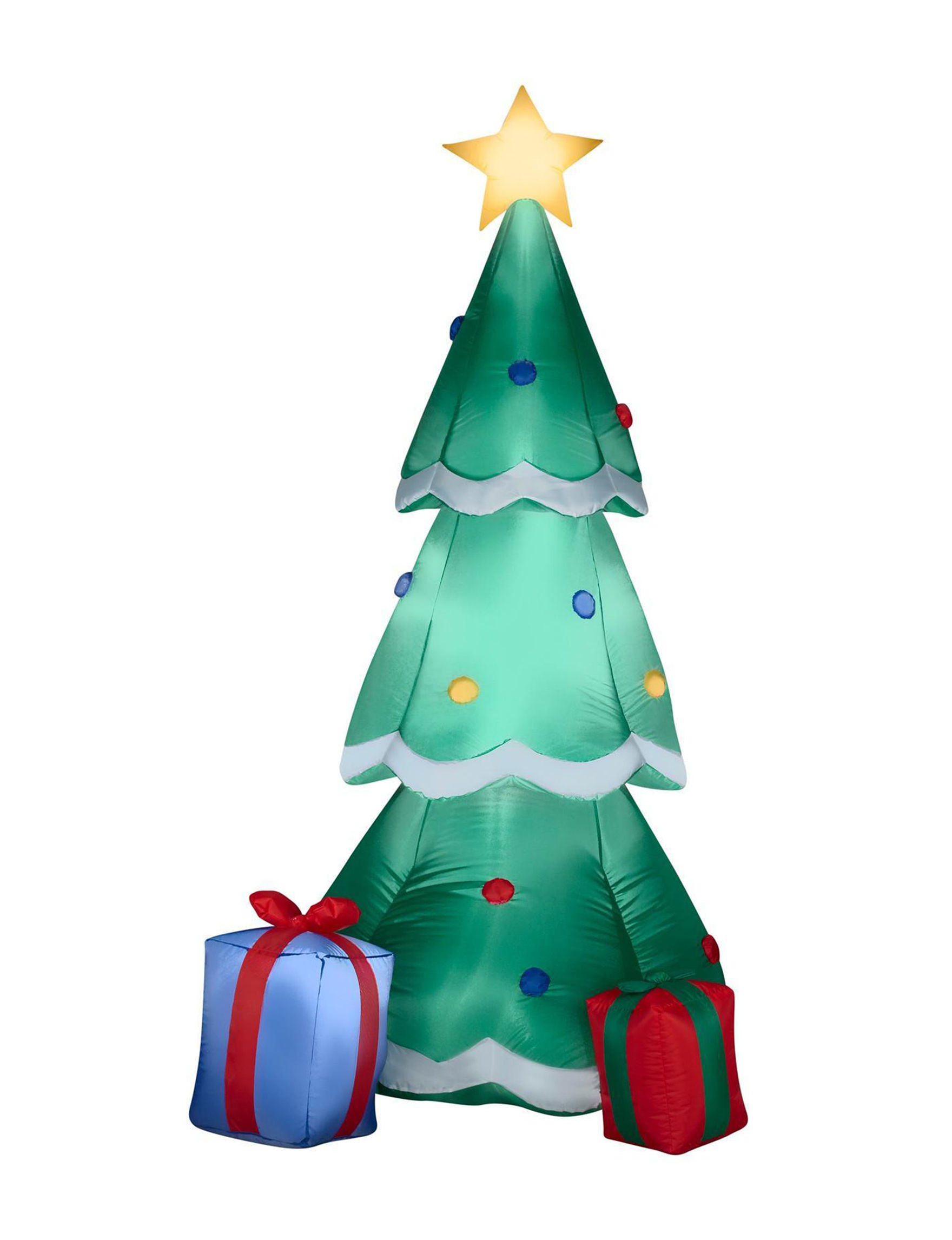 Gemmy Christmas Tree with Presents Inflatable Lawn Decor | Stage Stores