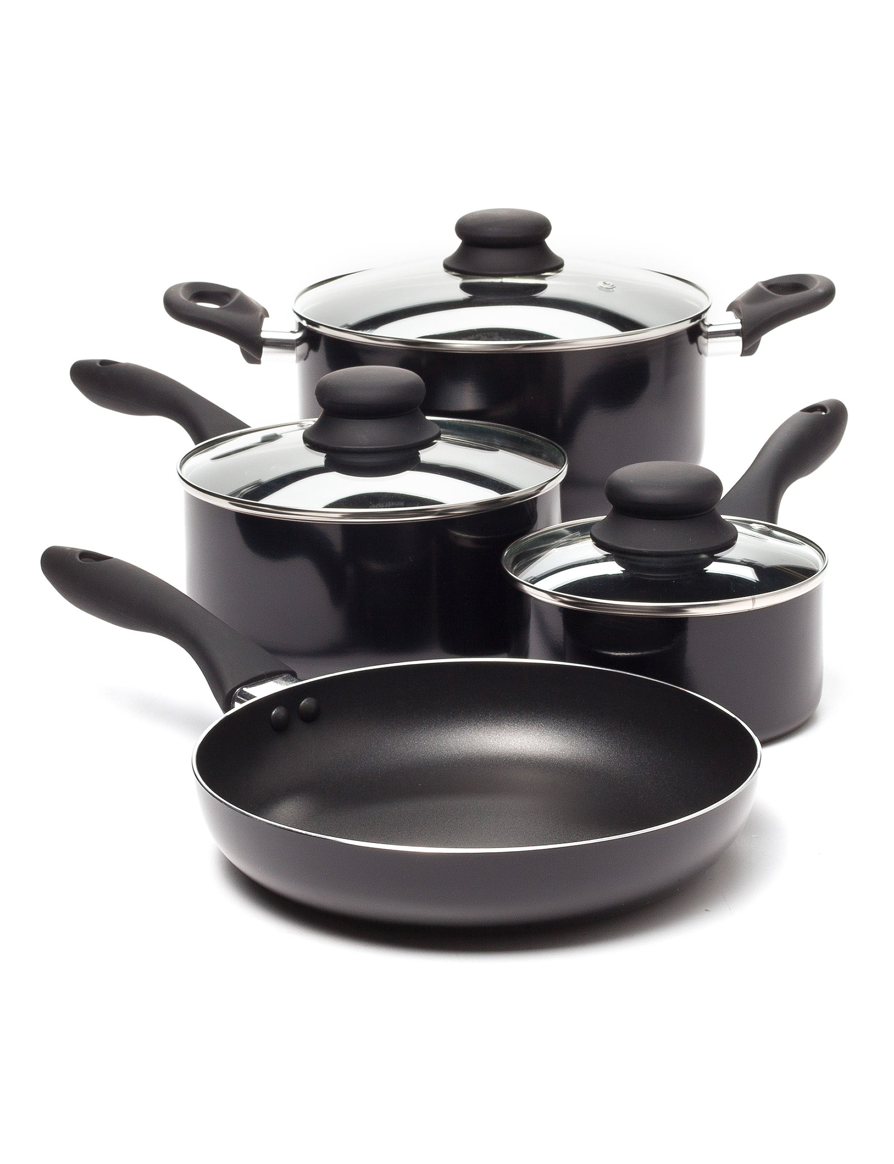 Gibson Black Cookware Sets Cookware