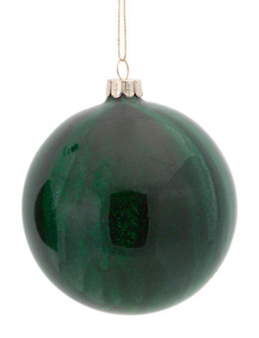 Melrose Emerald Decorative Objects Ornaments Holiday Decor