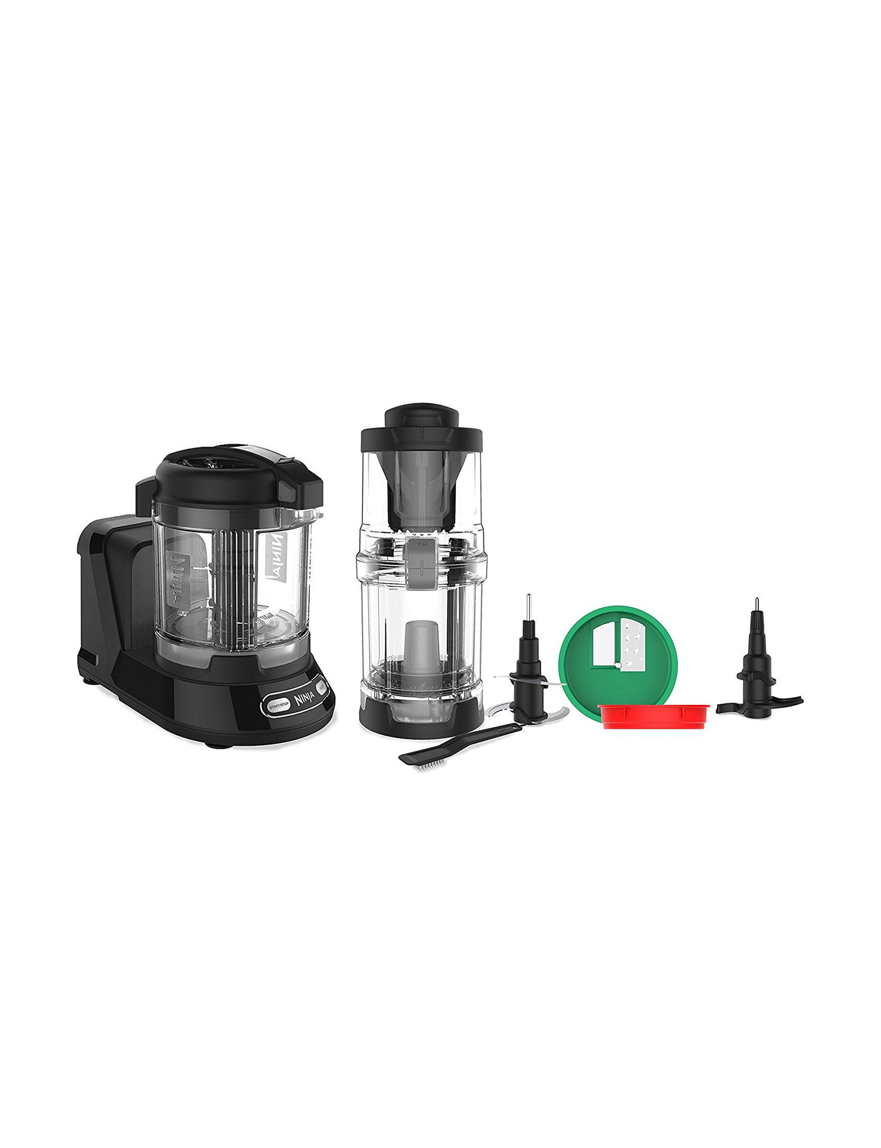 Ninja Black Blenders & Juicers Kitchen Appliances