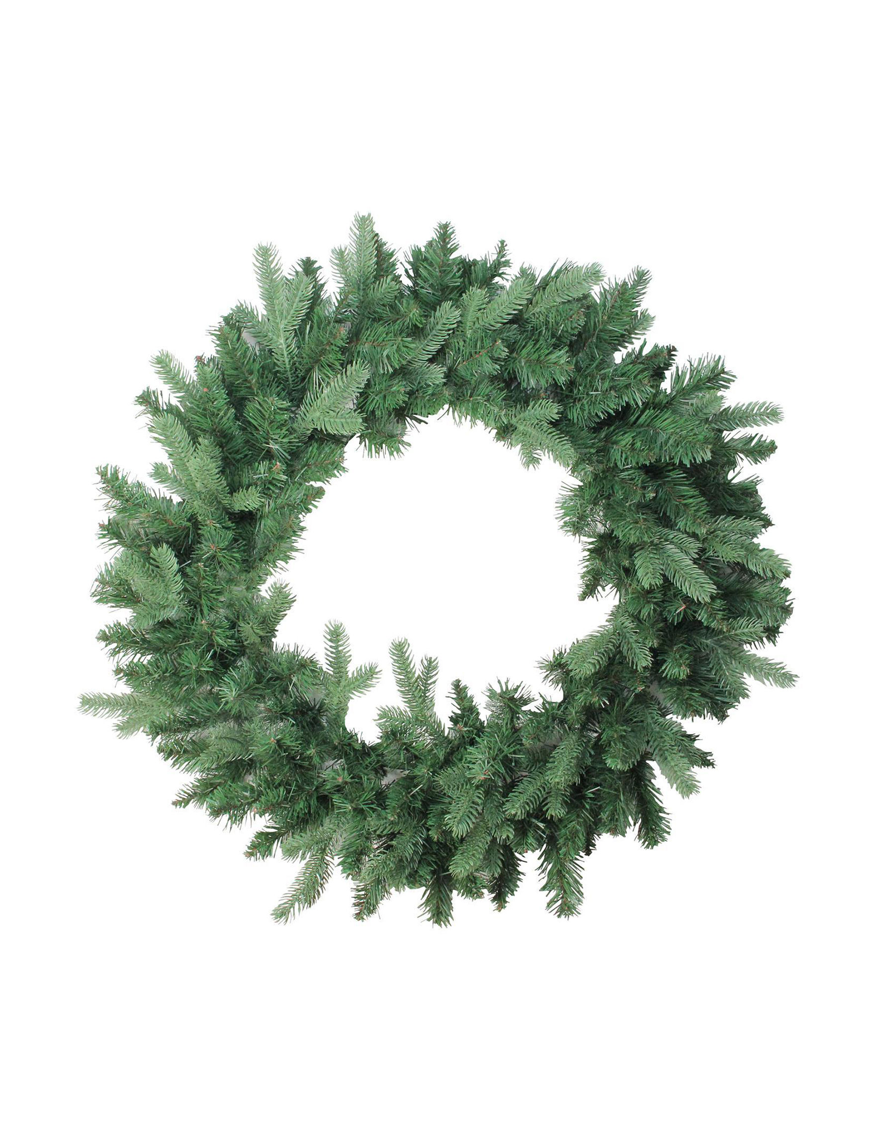 Northlight Green Wreaths & Garland Holiday Decor