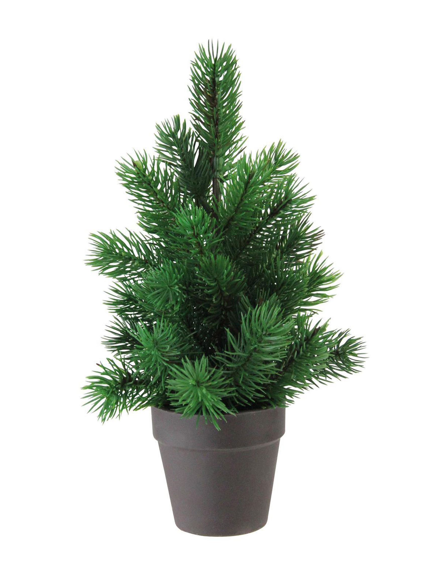 Northlight Grey / Green Christmas Trees Decorative Objects Holiday Decor Home Accents