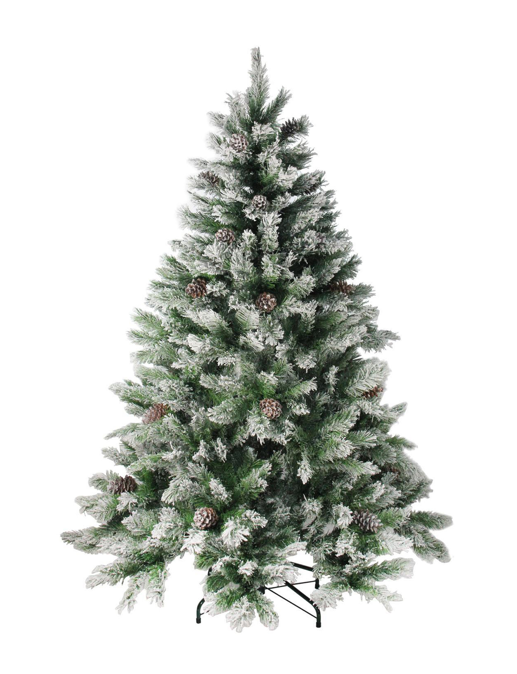 Northlight Green / White Christmas Trees Decorative Objects Holiday Decor Home Accents
