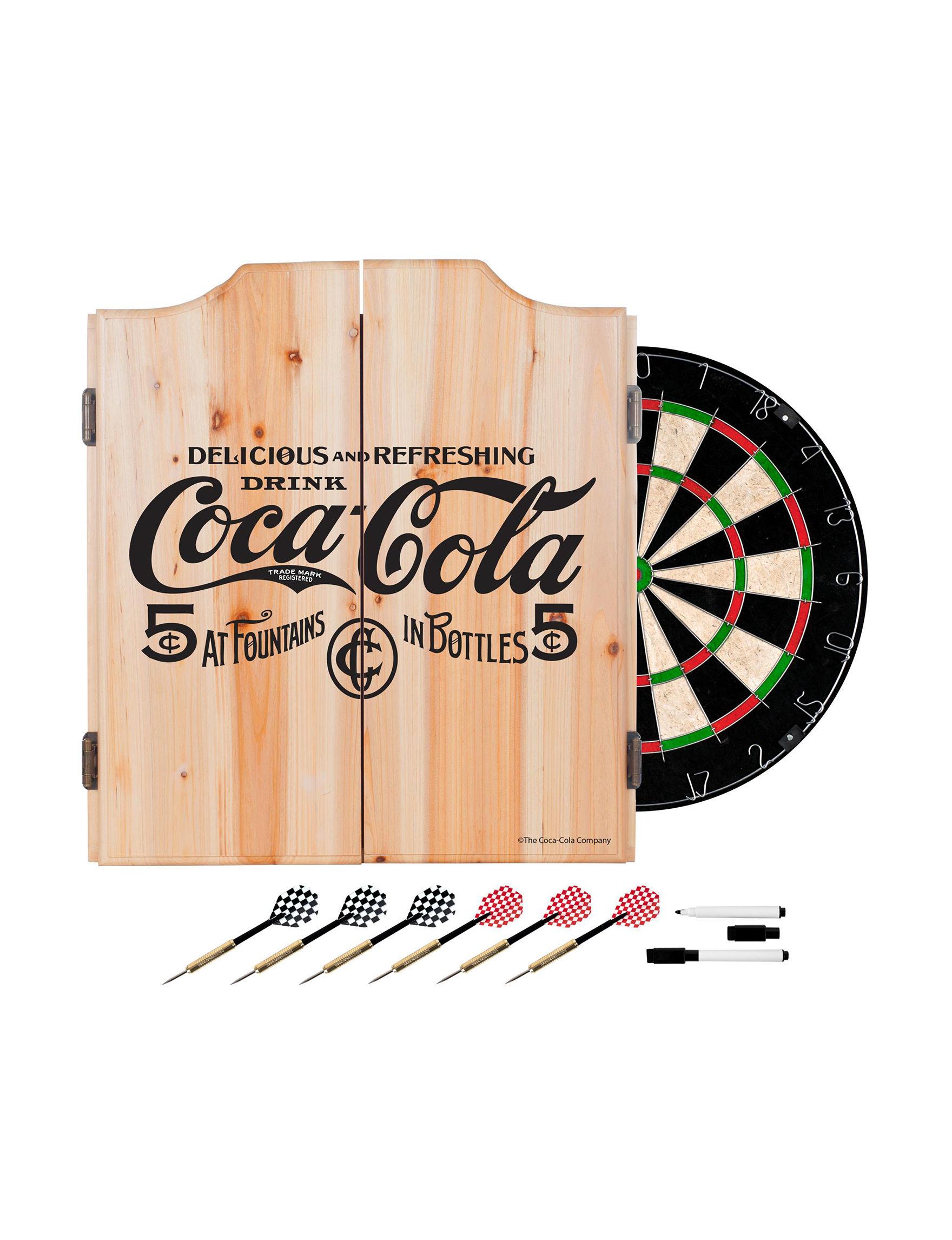 Coca Cola Black Game Room Wall Decor