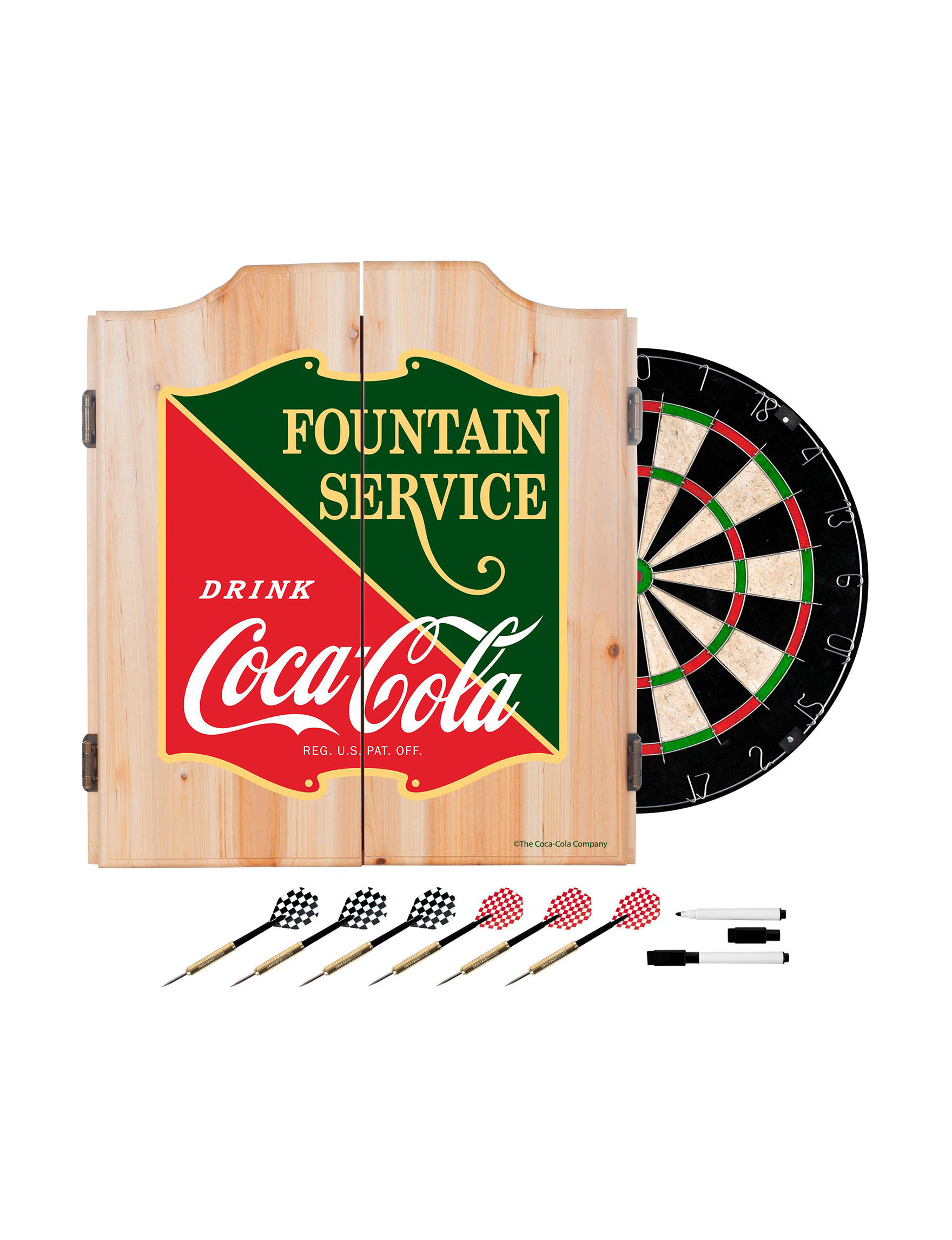 Coca Cola Green / Red Game Room Wall Decor