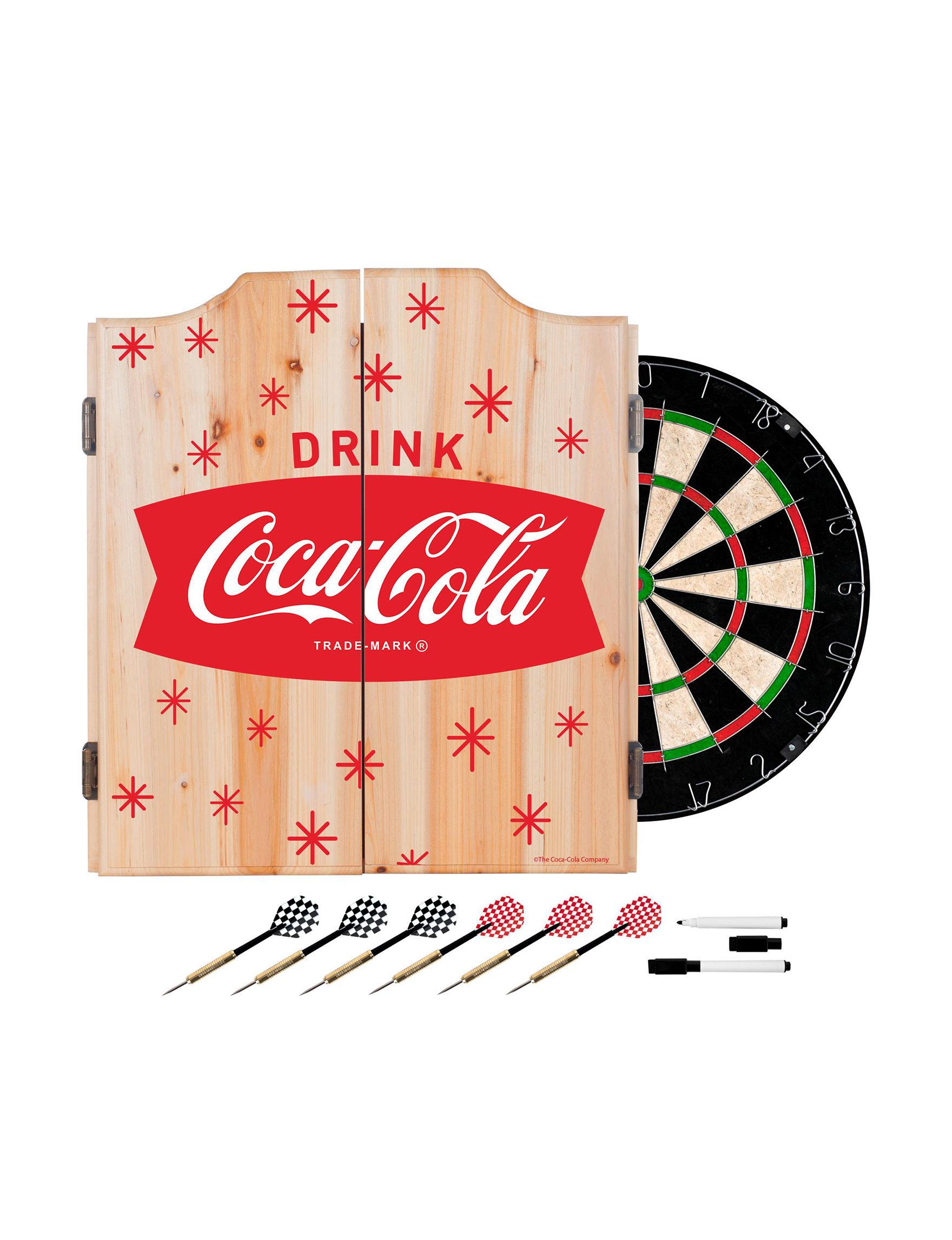 Coca Cola Red / White Game Room Wall Decor