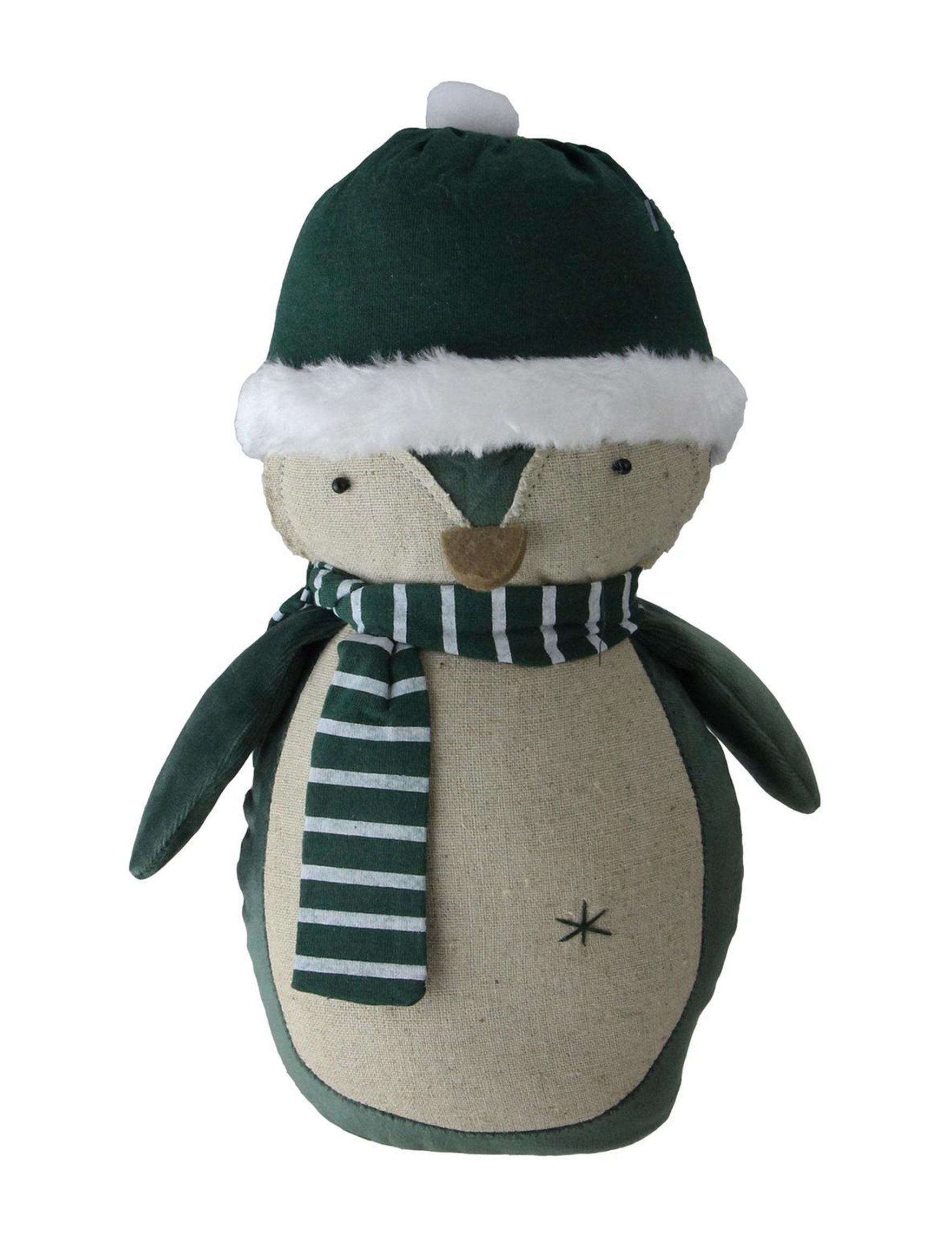 Northlight Green / White Decorative Objects Holiday Decor Home Accents