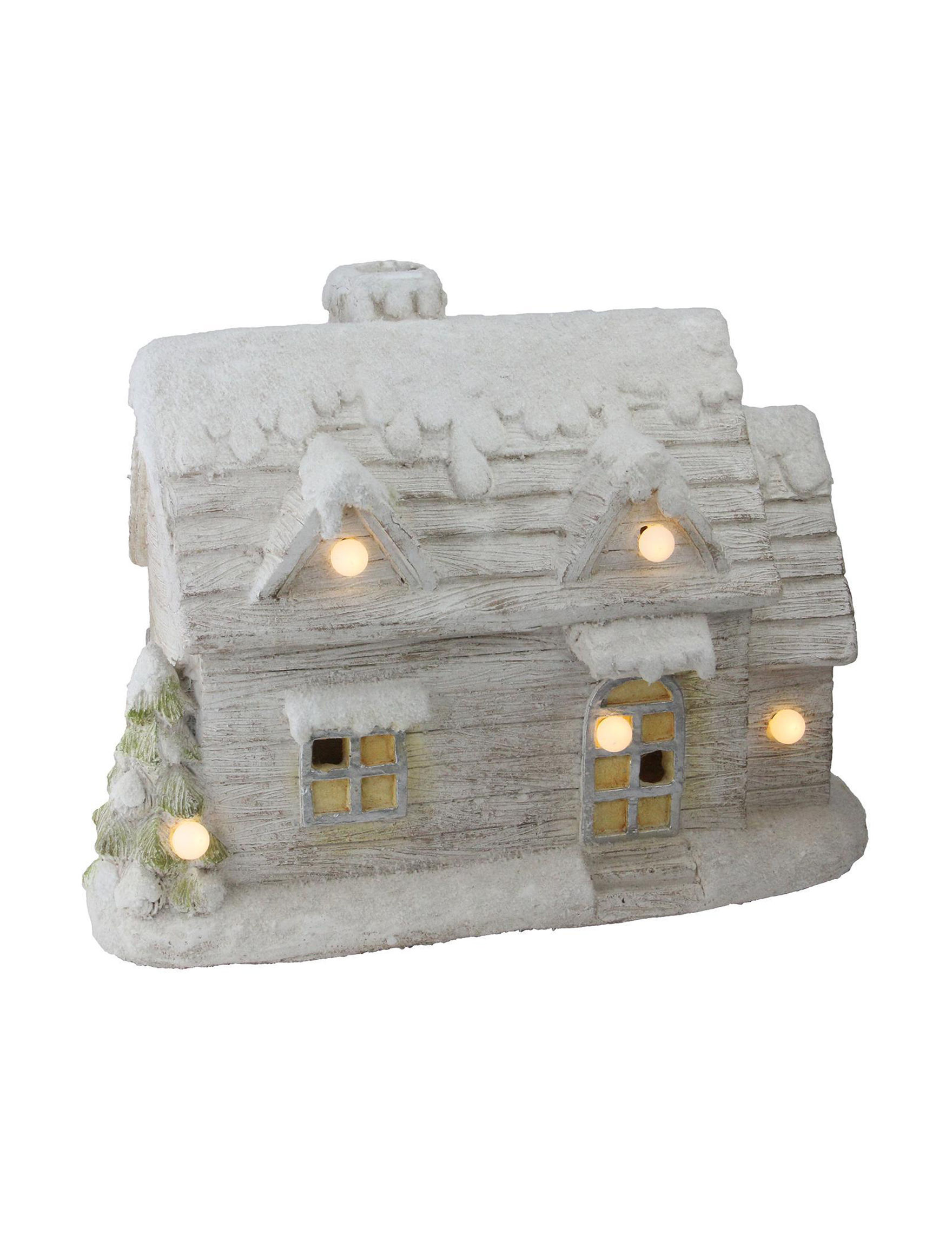 Northlight Grey Decorative Objects Holiday Decor Home Accents