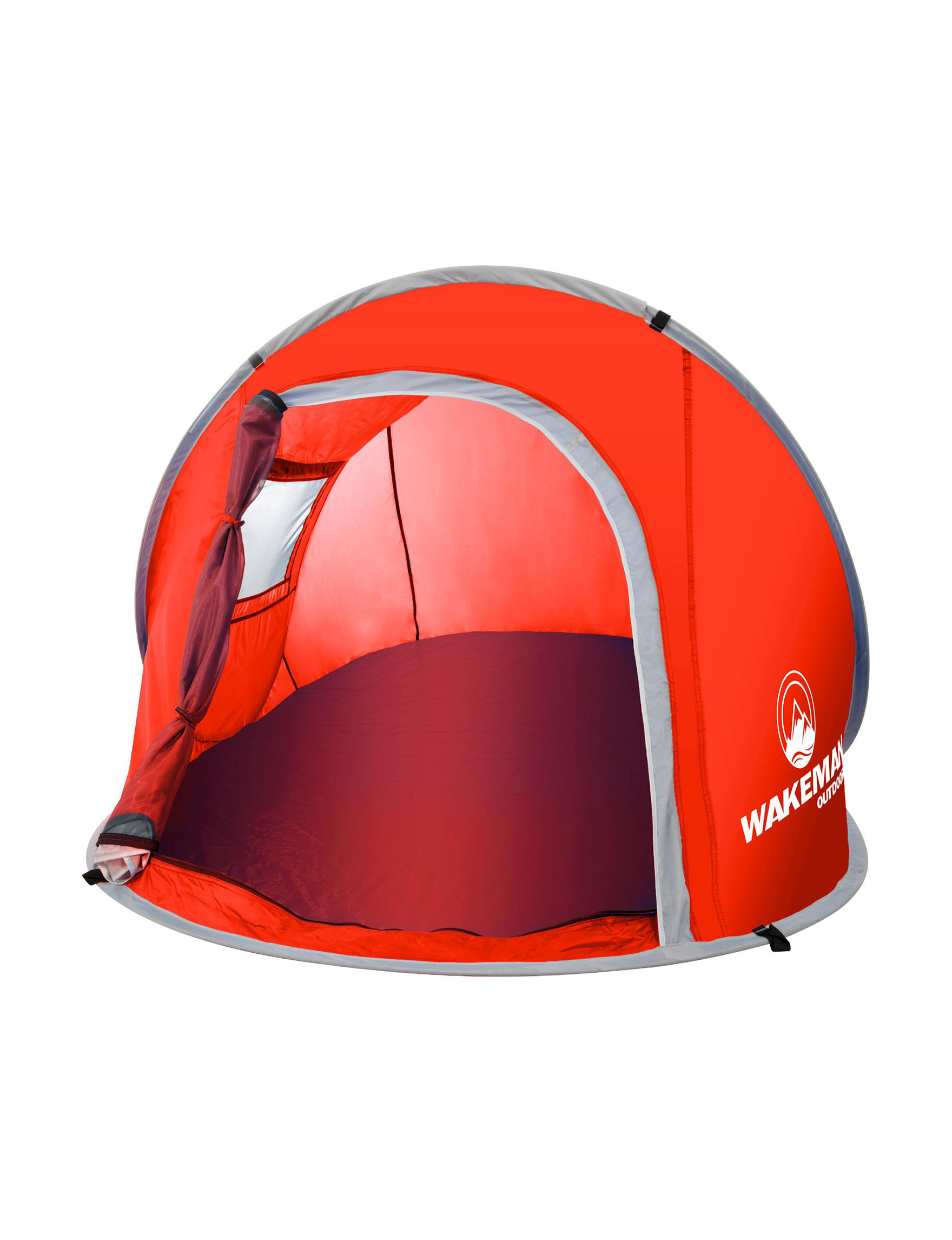 Wakeman Red Tents & Canopies Camping & Outdoor Gear