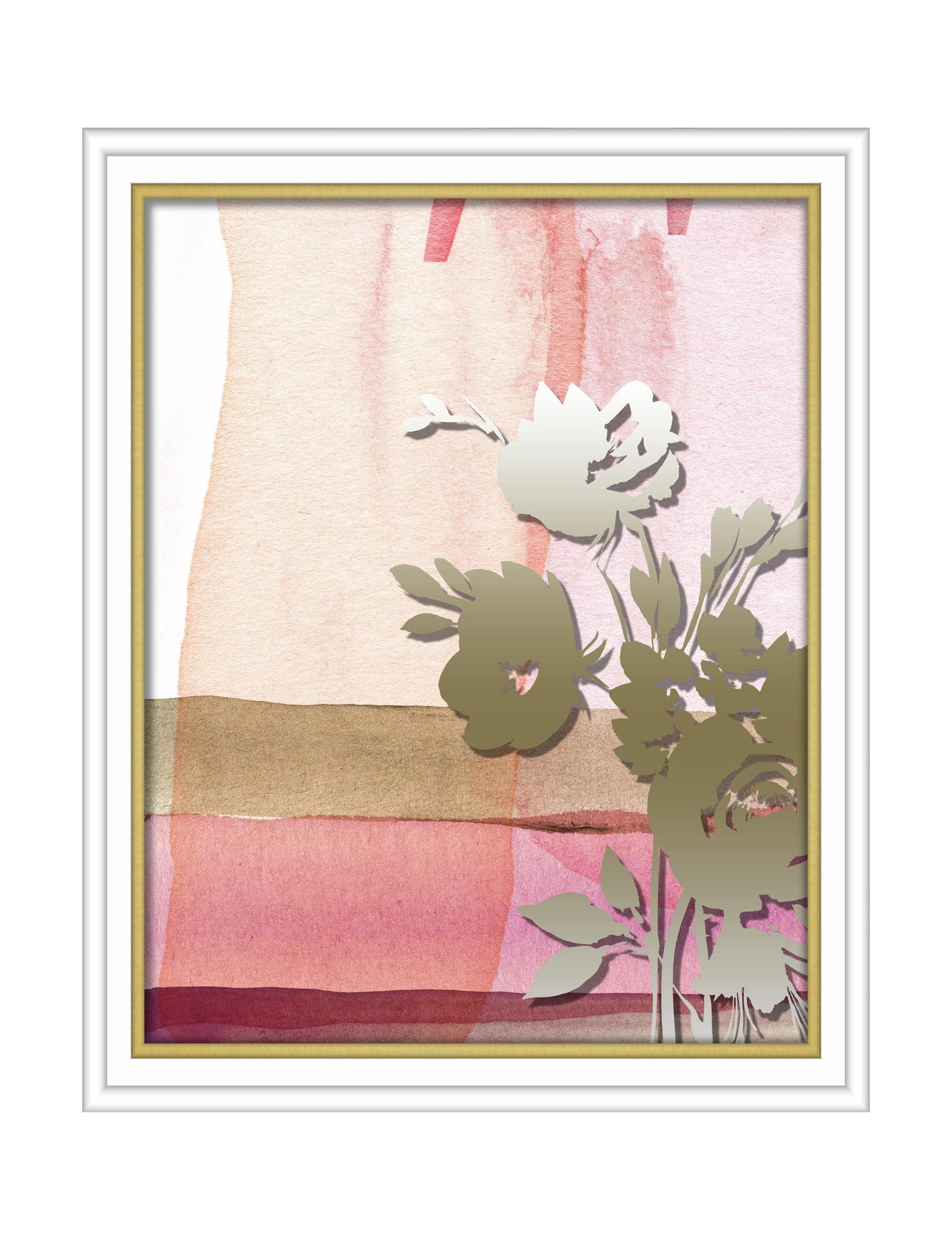 Linden Ave Pink Wall Art Wall Decor