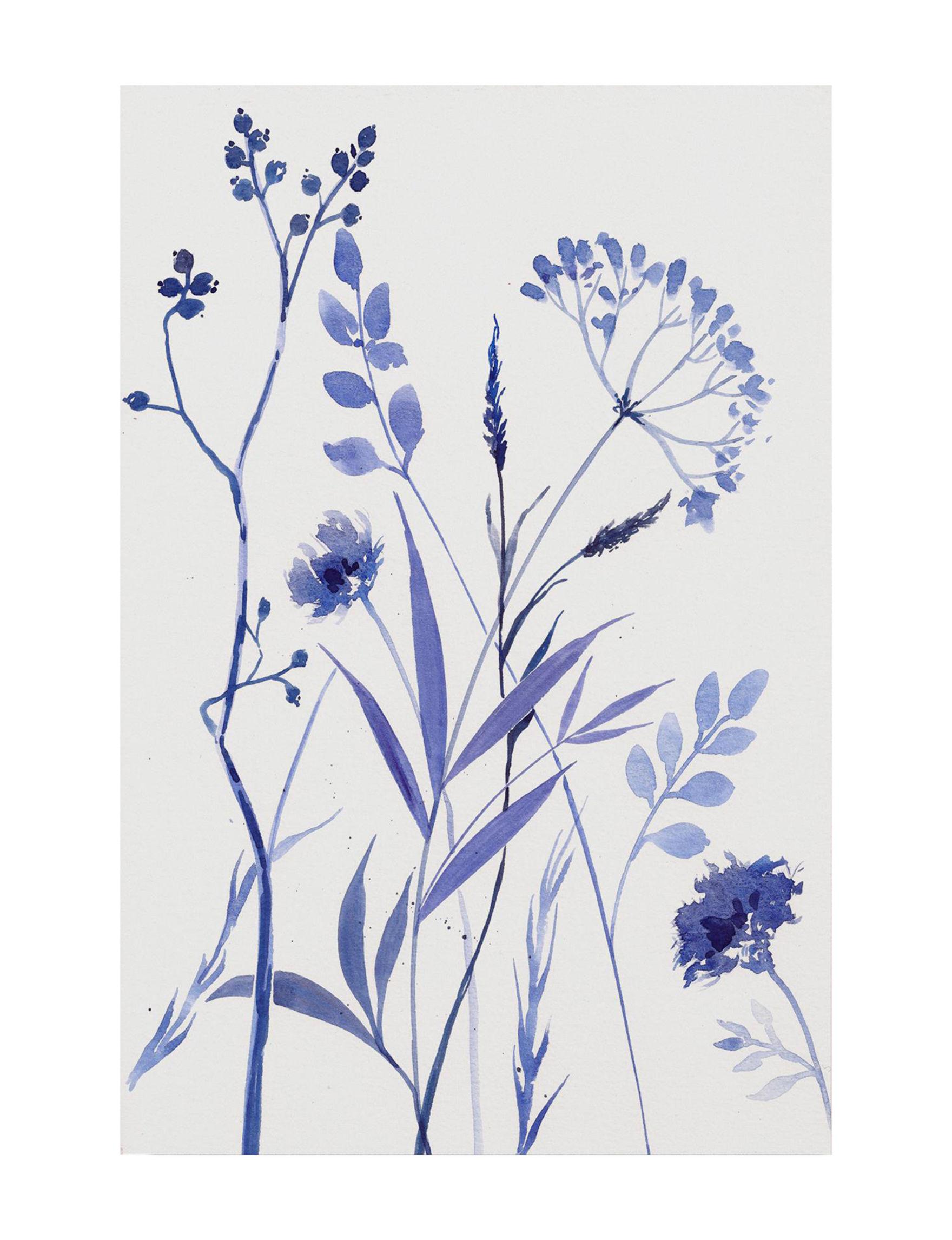 Trademark Fine Art Blue / White Wall Art Wall Decor