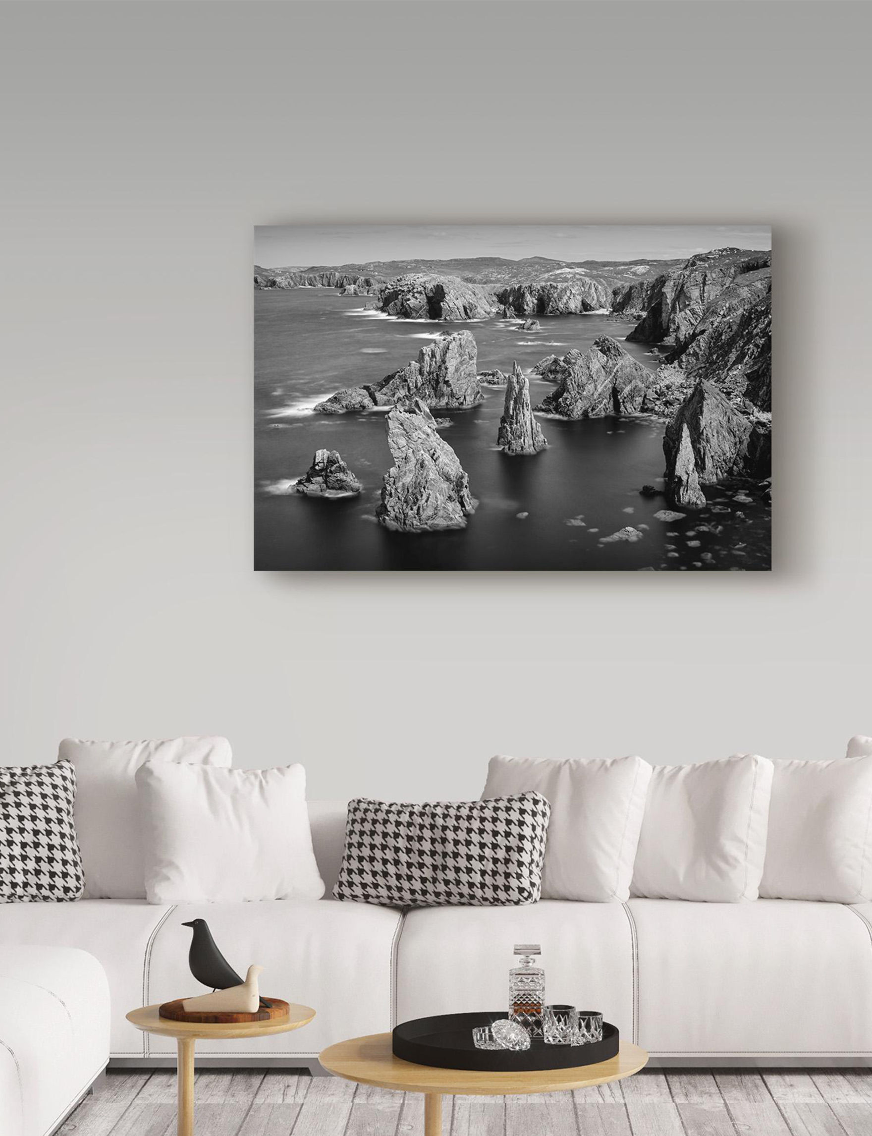 Trademark Fine Art Black / White Wall Art Home Accents Wall Decor