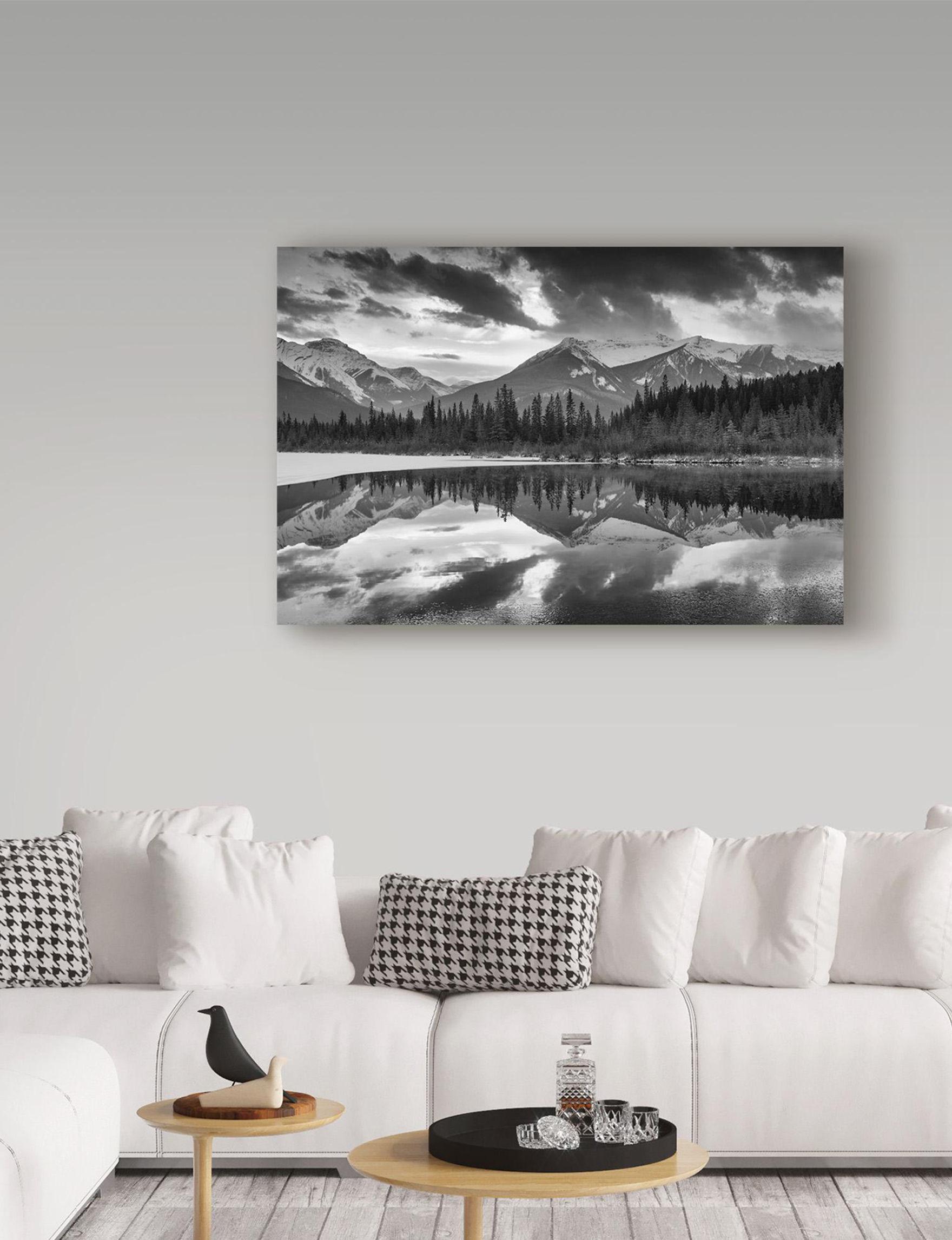 Trademark Fine Art Black / White Wall Art Home Accents Wall Decor