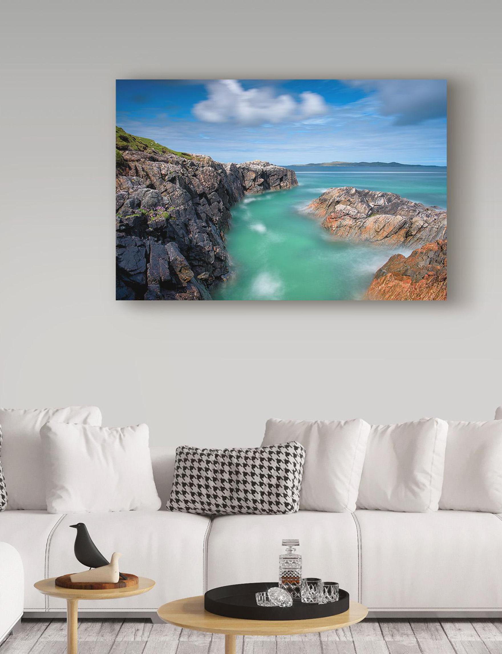 Trademark Fine Art Blue / Multi Wall Art Home Accents Wall Decor