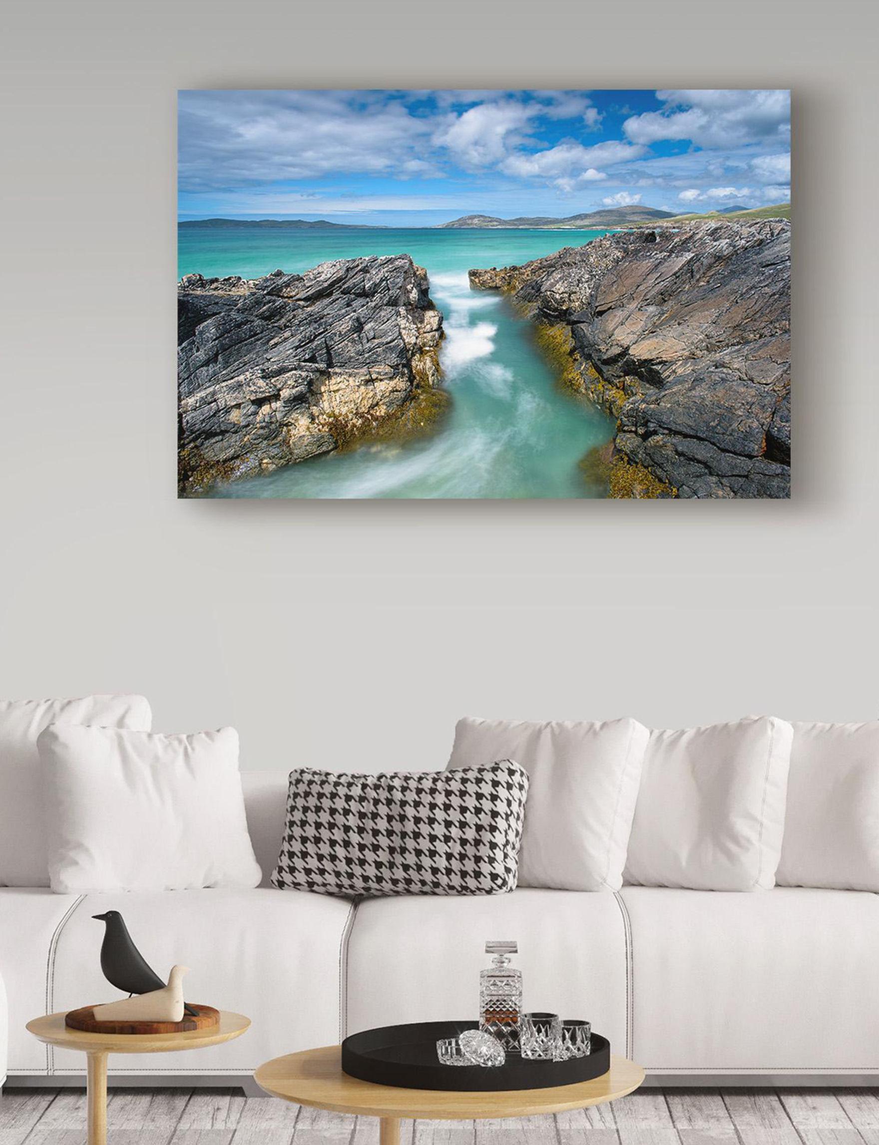 Trademark Fine Art Blue Wall Art Home Accents Wall Decor