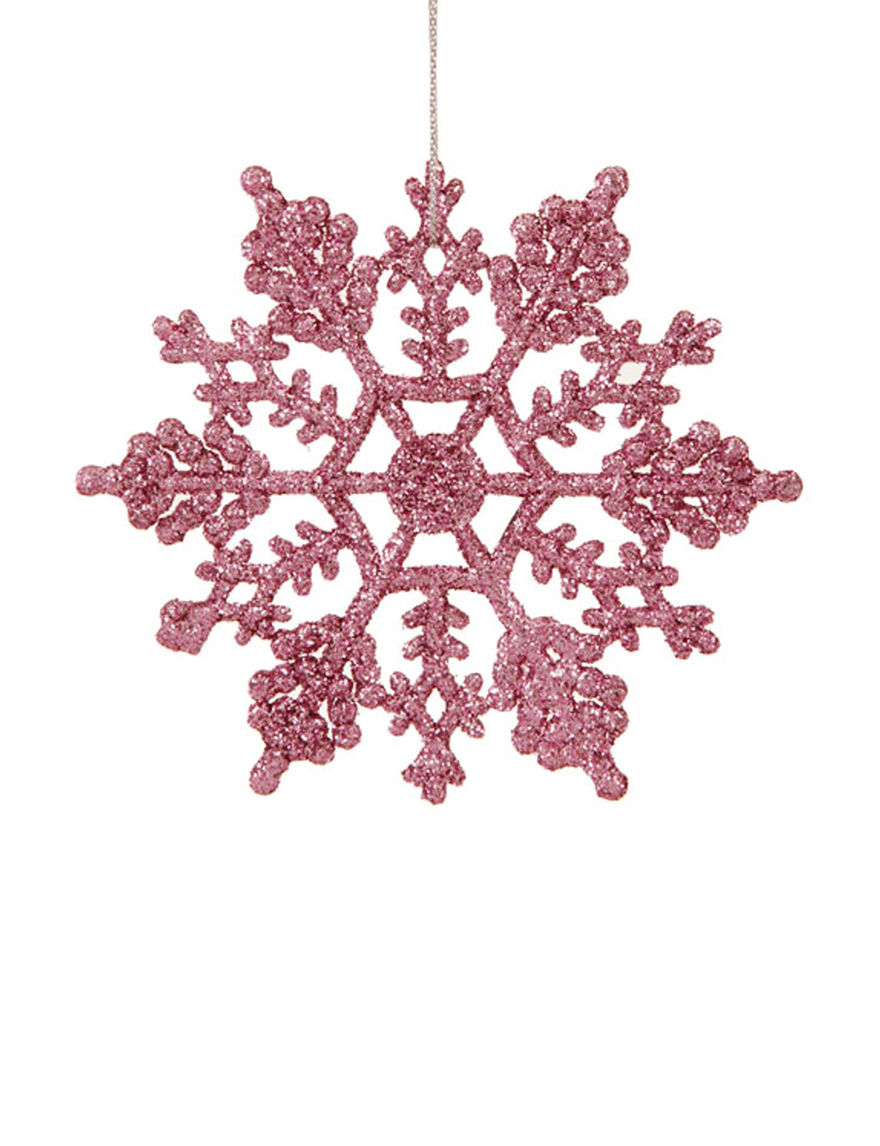 Northlight Pink Decorative Objects Ornaments Holiday Decor