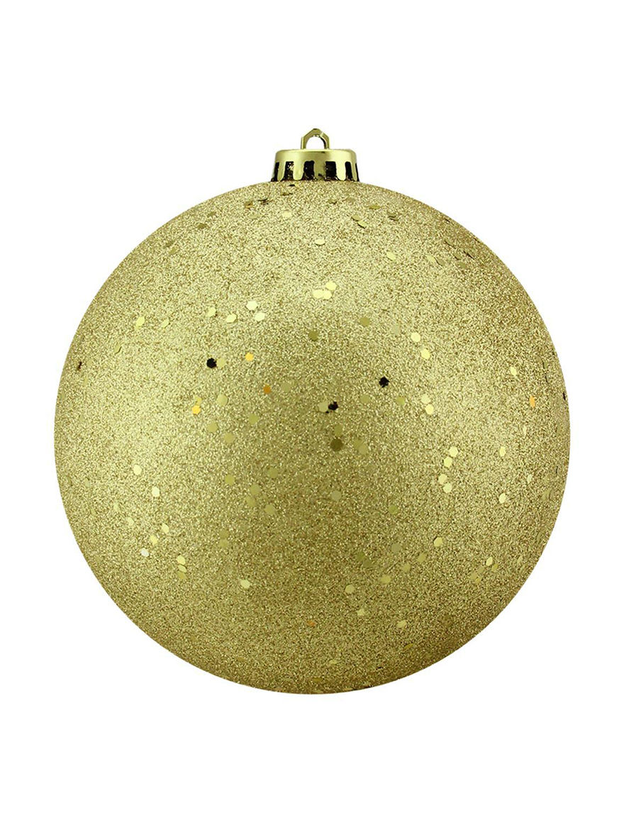Northlight Gold Ornaments Holiday Decor