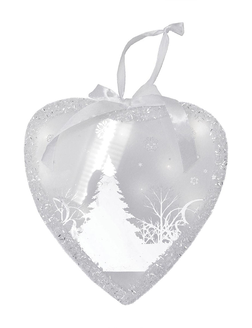 Northlight White / Grey Ornaments Holiday Decor