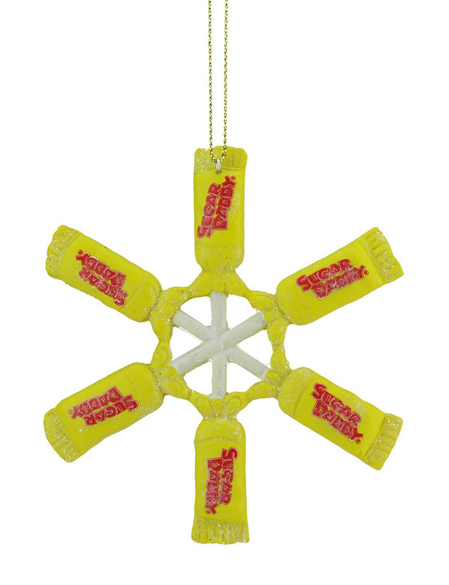Northlight Yellow Ornaments Holiday Decor