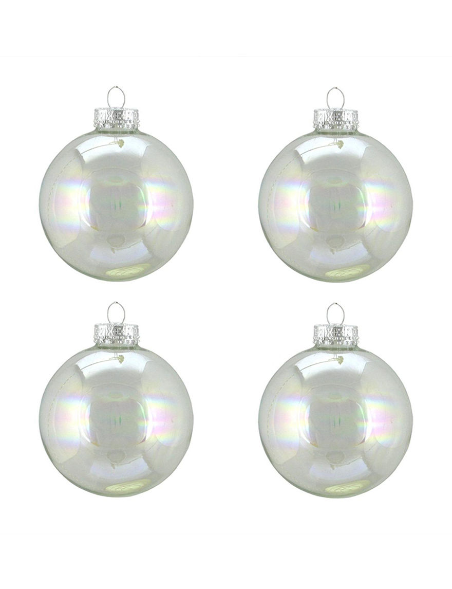 Northlight Clear Ornaments Holiday Decor
