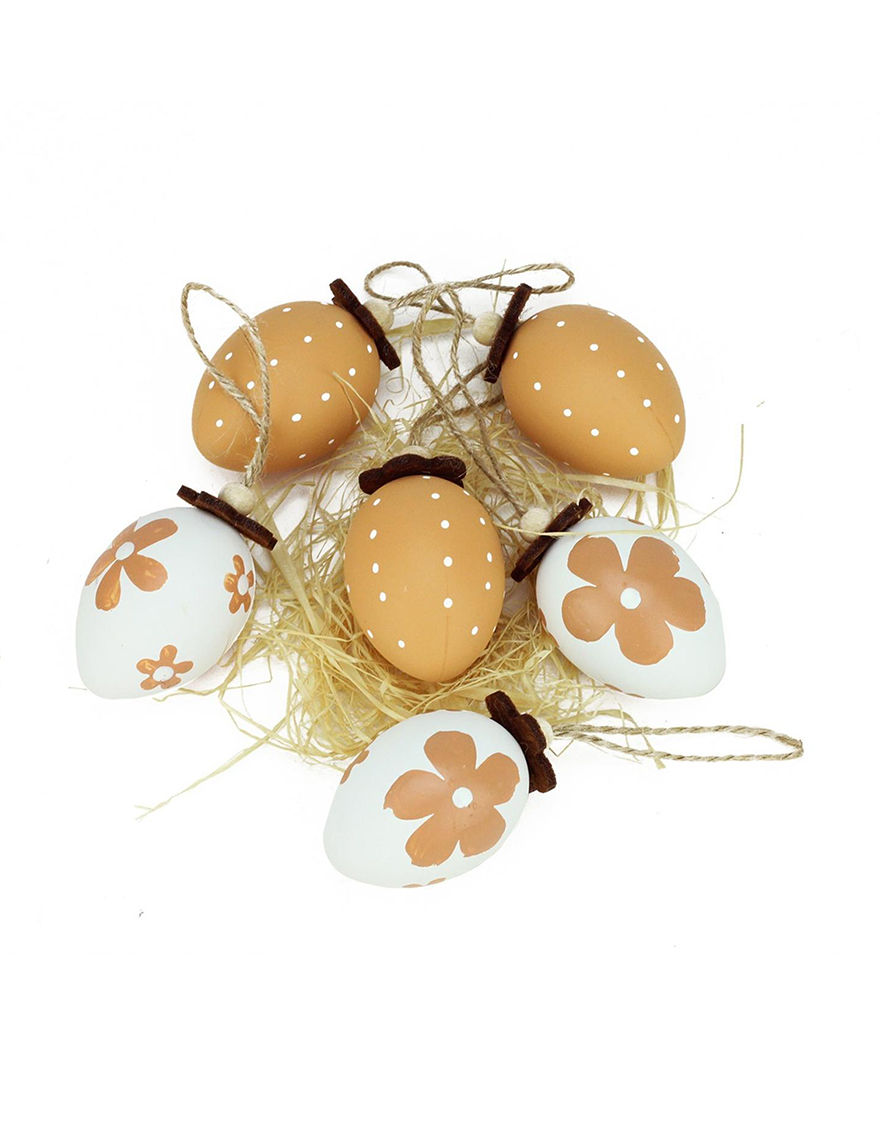 Northlight Orange Decorative Objects Ornaments Holiday Decor