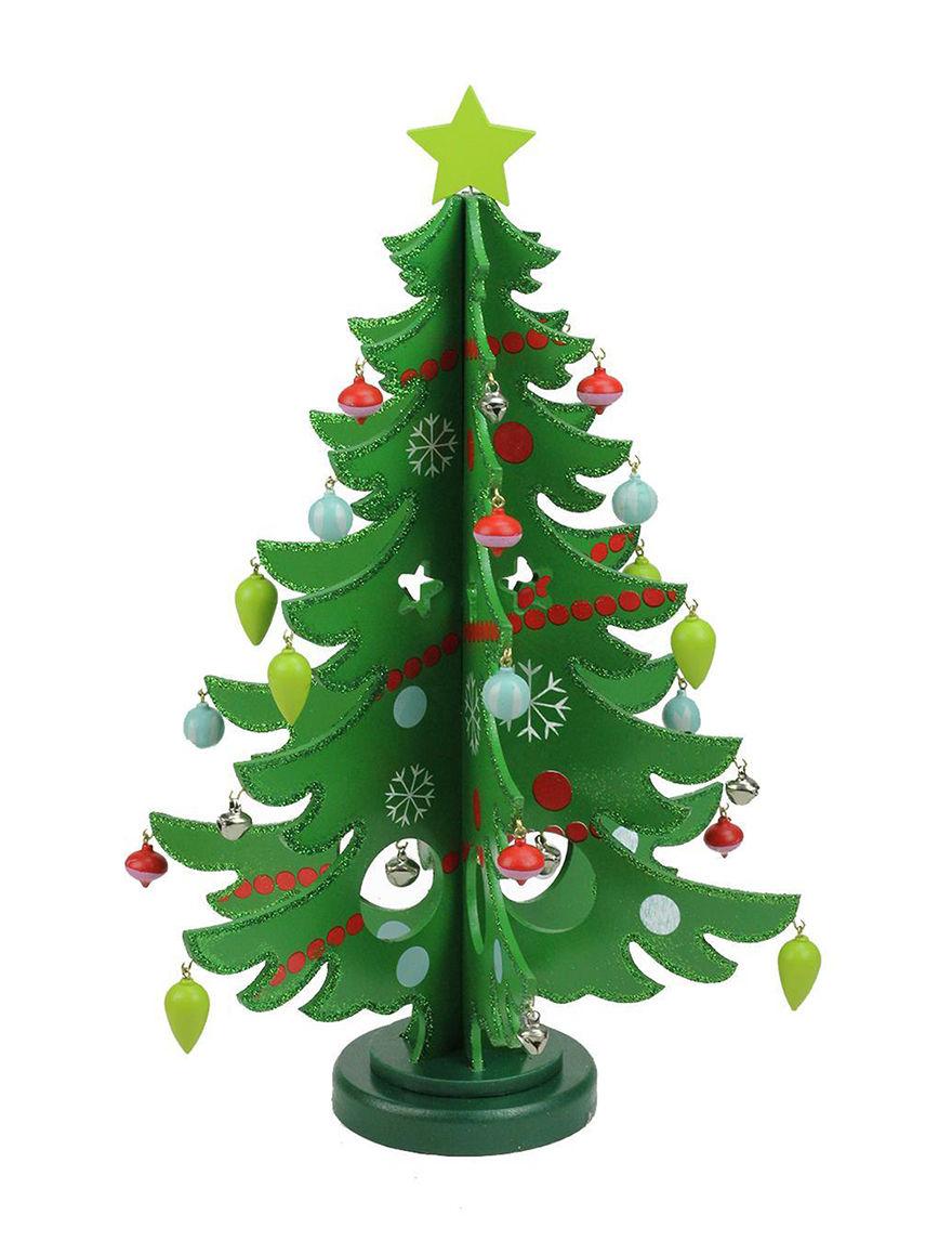 Northlight Green Multi Decorative Objects Holiday Decor