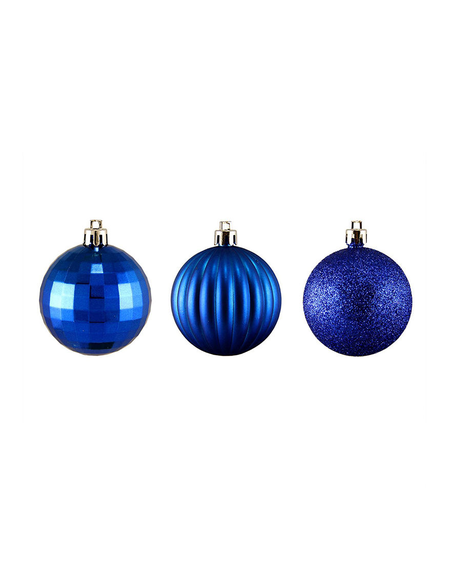 Northlight Blue Decorative Objects Ornaments Holiday Decor