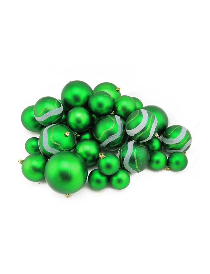 Northlight Green Decorative Objects Ornaments Holiday Decor