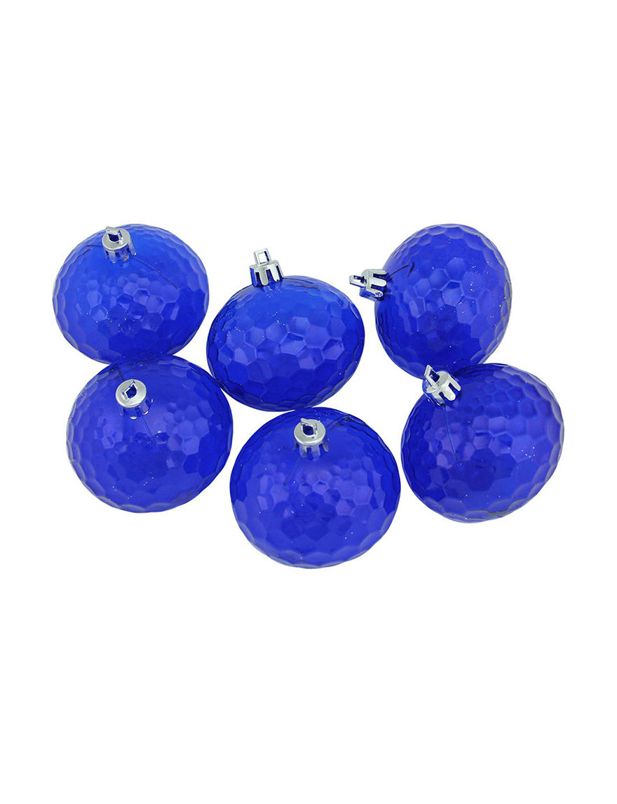 Northlight Blue Ornaments Holiday Decor