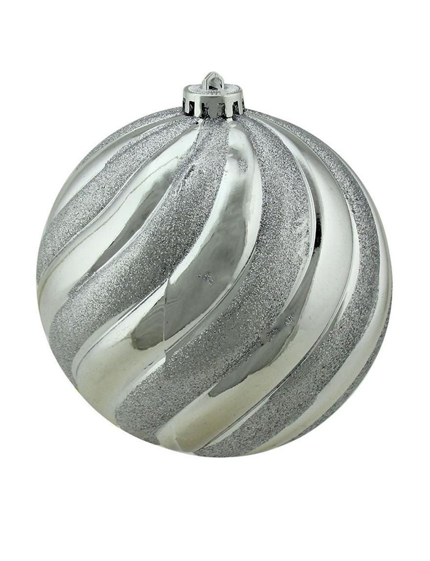 Northlight Silver Decorative Objects Ornaments Holiday Decor