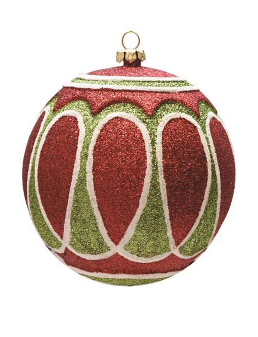 Northlight Green / Red Decorative Objects Ornaments Holiday Decor