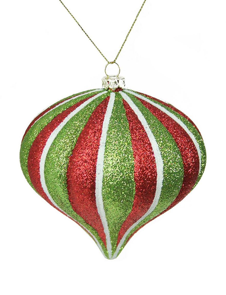 Northlight Red Multi Ornaments Holiday Decor