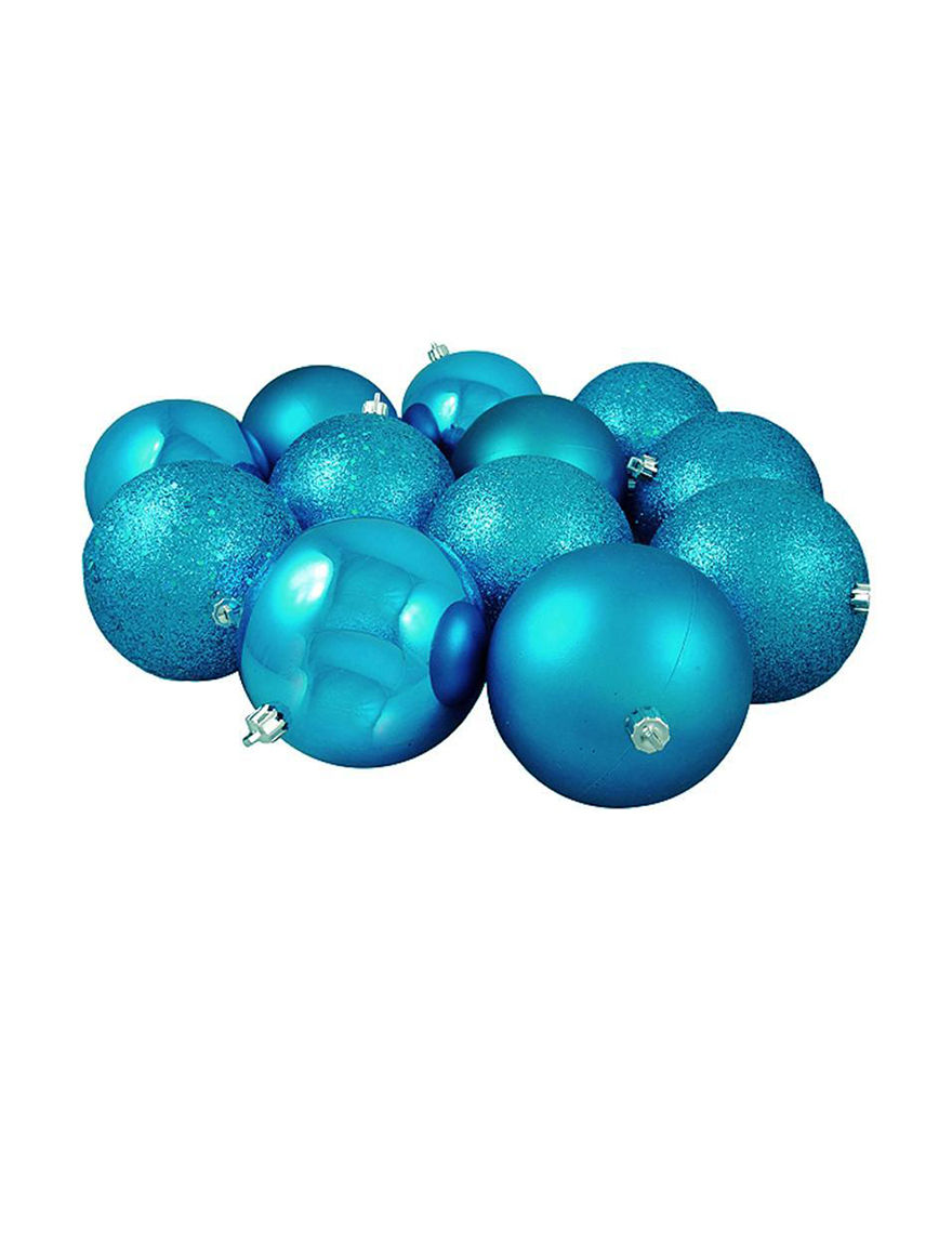 Northlight Turquoise Decorative Objects Ornaments Holiday Decor