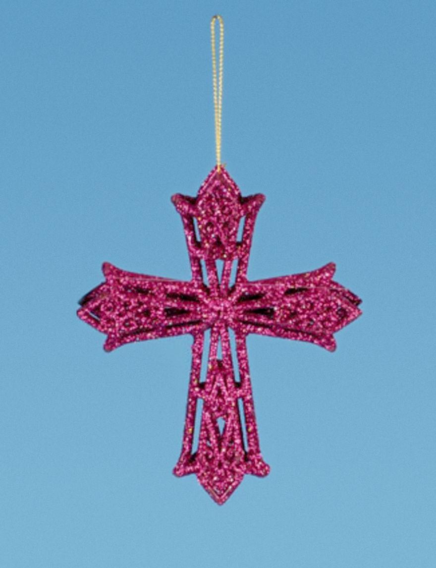 Lynn Roberts Pink Ornaments Holiday Decor